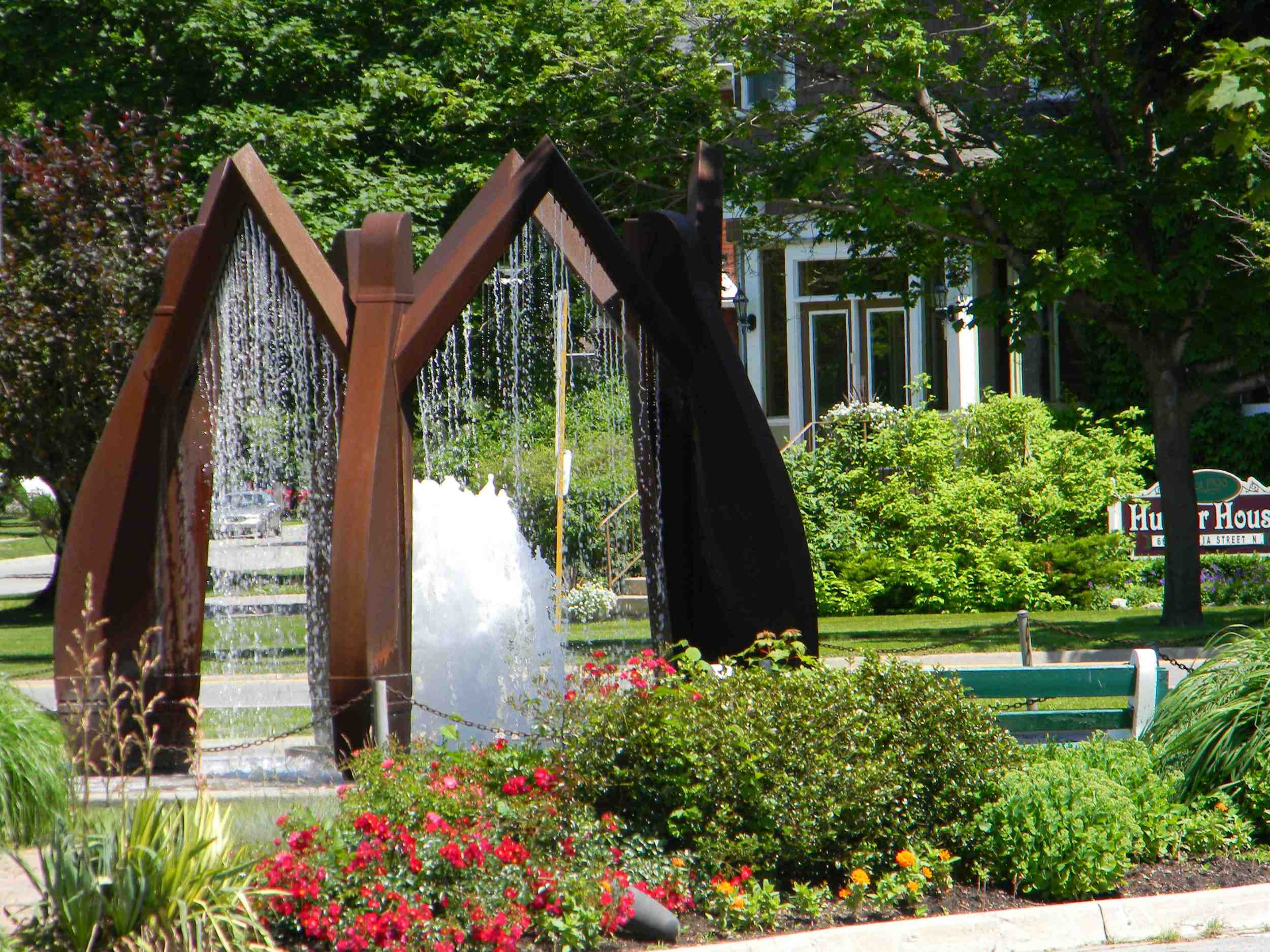 Dutch Fountain Goderich, ON
