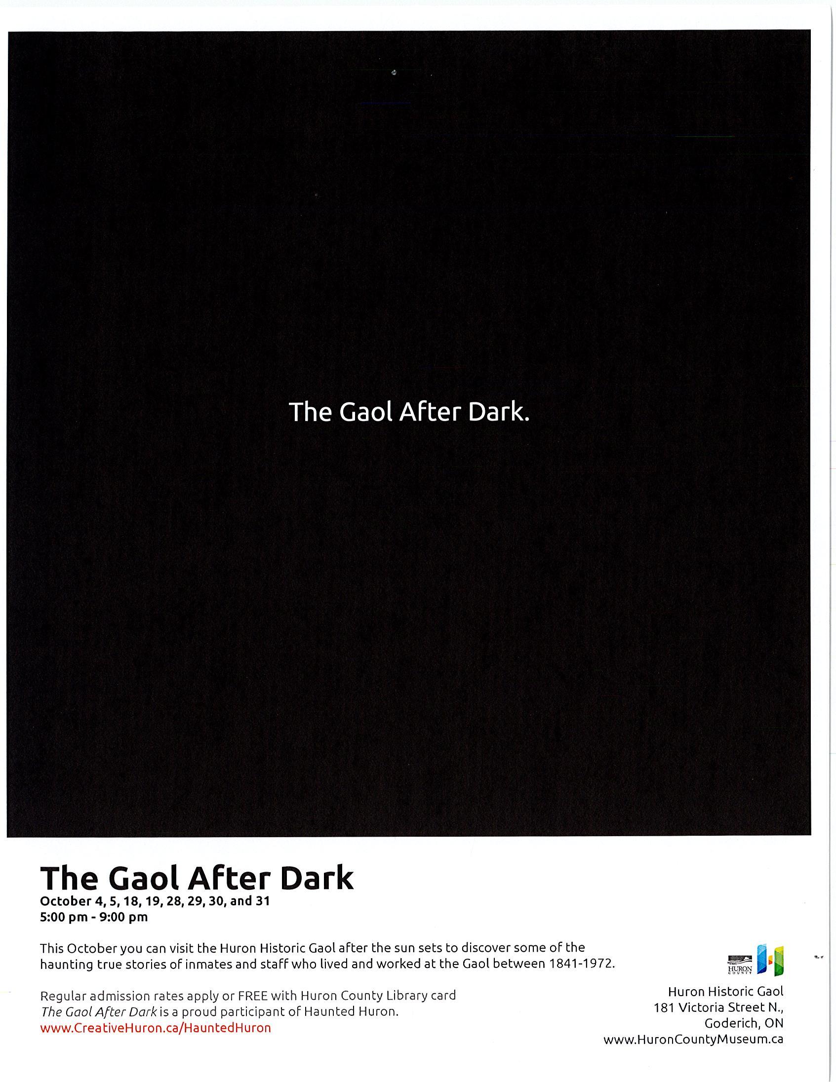 The Gaol After Dark October 2019.jpg
