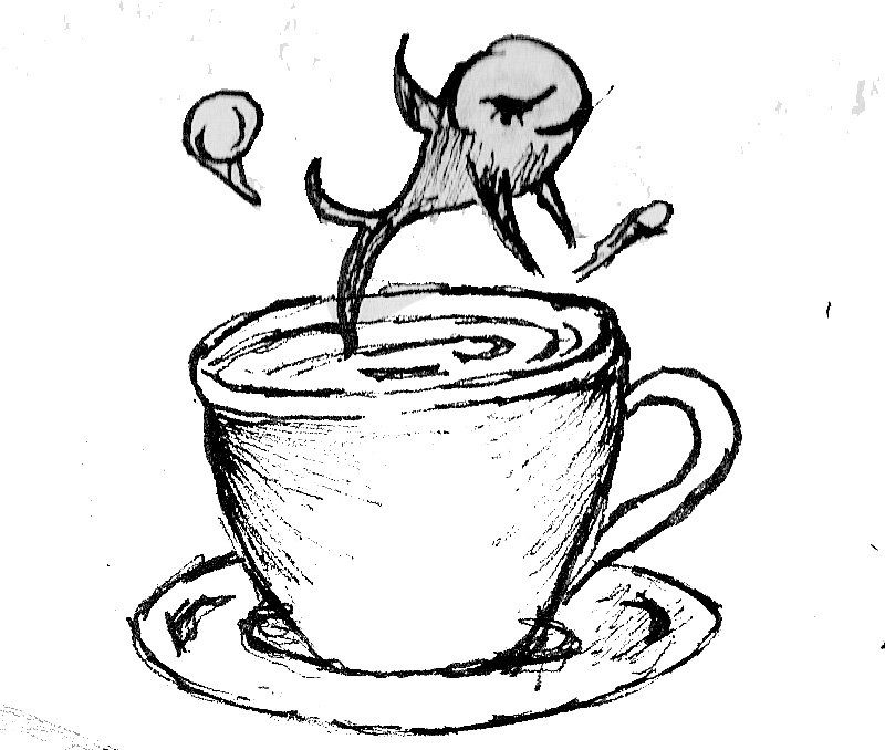 CoffeeCupFishBWImage.jpg