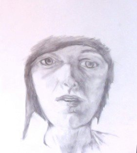 My first self-portrait.