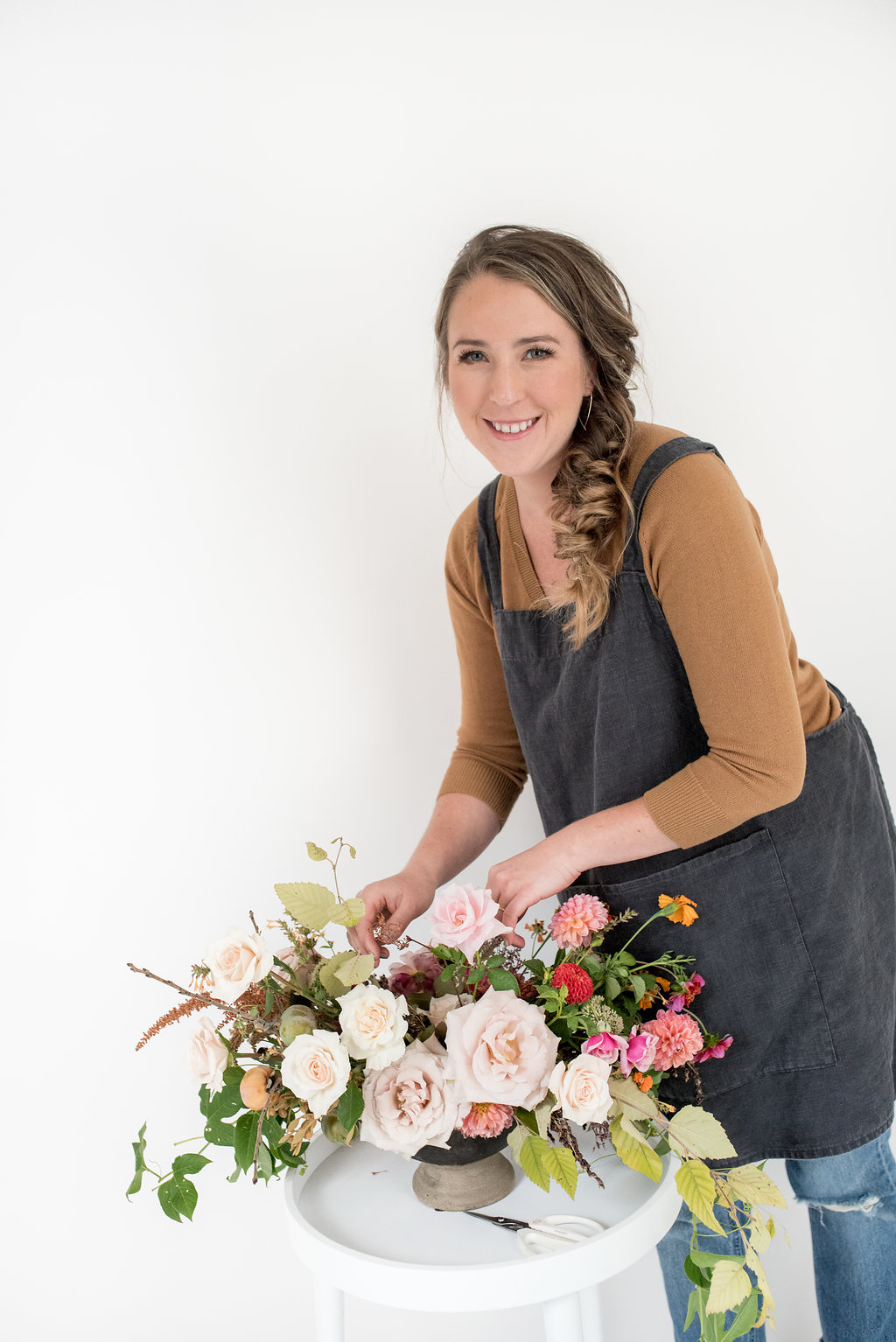 We create event flowers for clients who love nature &prioritize incorporating it's beauty into their celebration  -