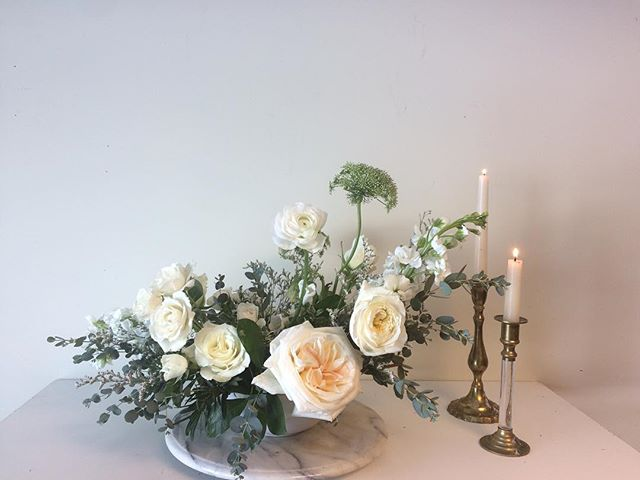A quick still shot of a large centerpiece from the classic neutral collection