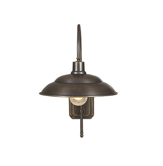 Aged Brass Wharf Sconce