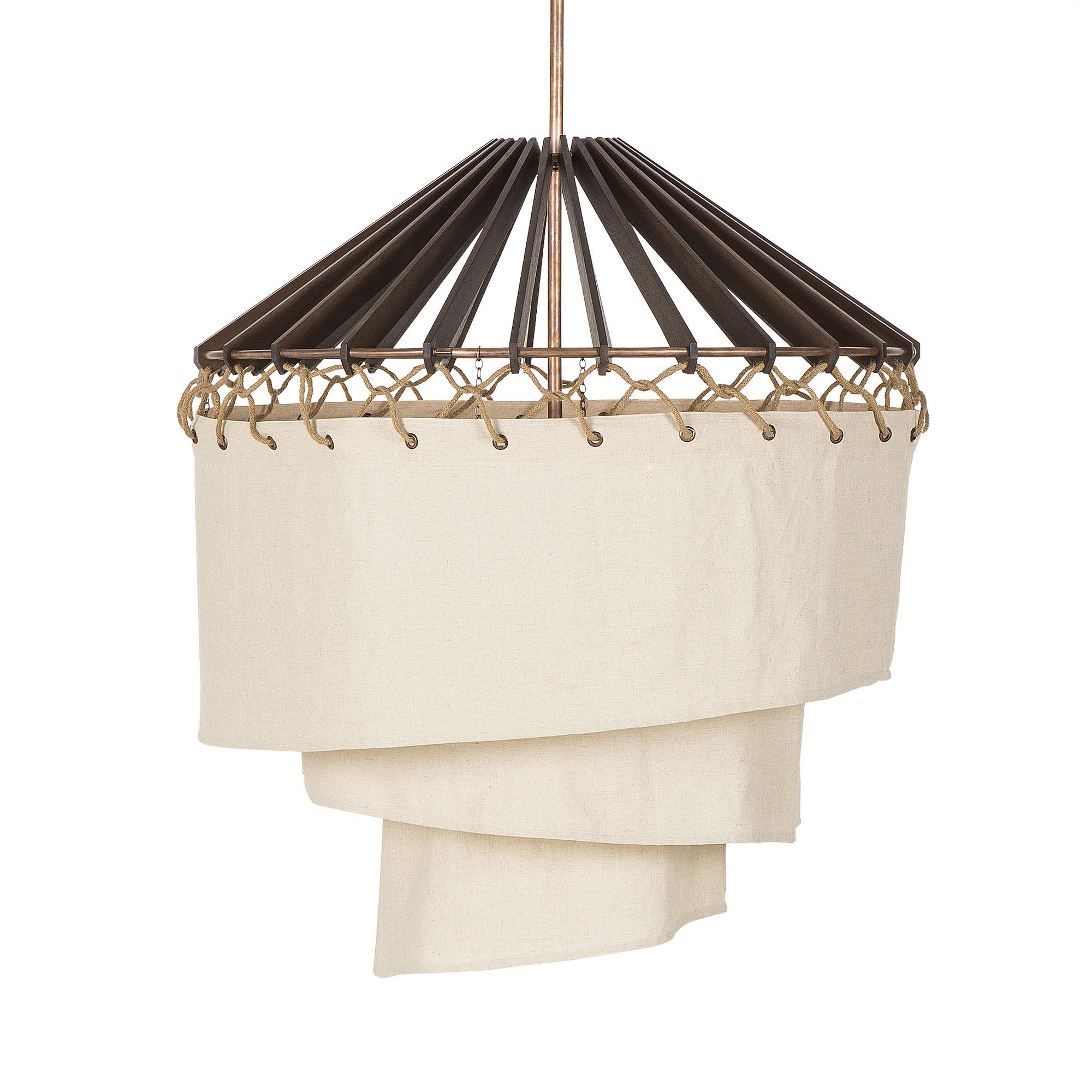 Nellcote_Studio_wood shutters & Twine chandelier.jpg