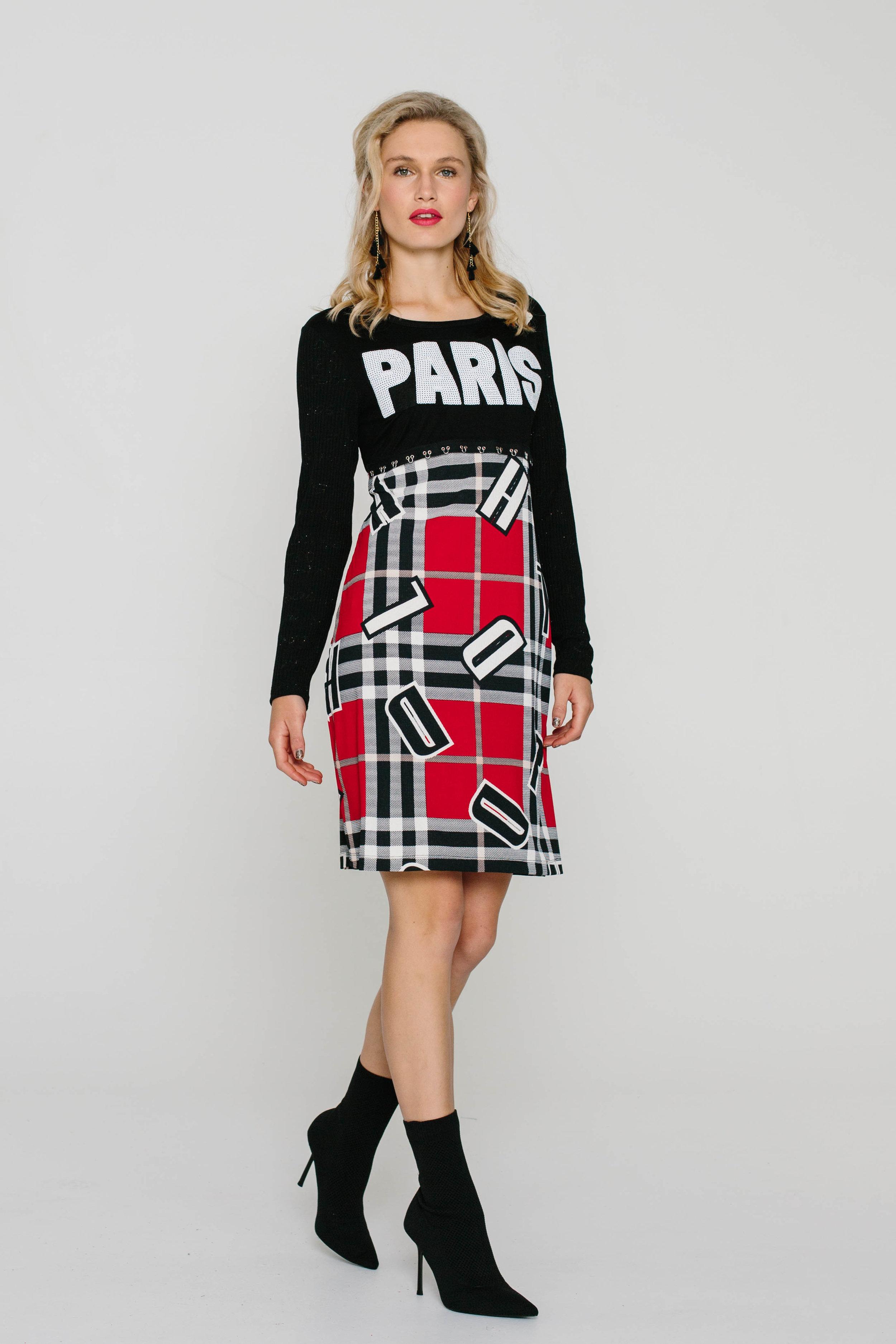 5725W Maree Dress Red