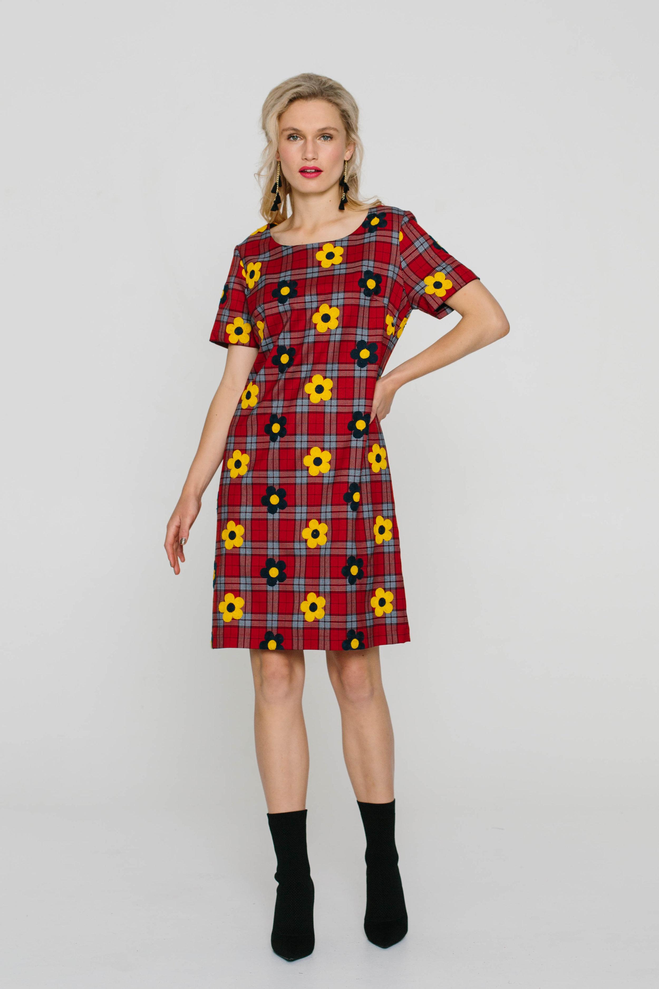 5736W Liberty Dress Tartan Baby Mustard