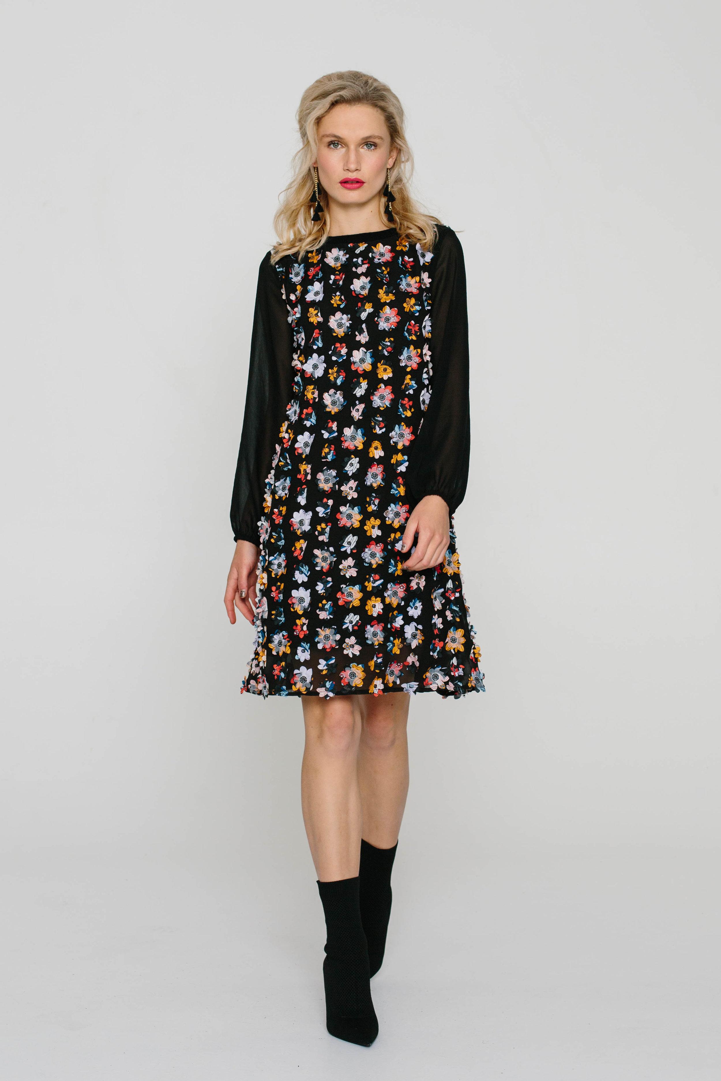 5906WA Shilo Dress Petals