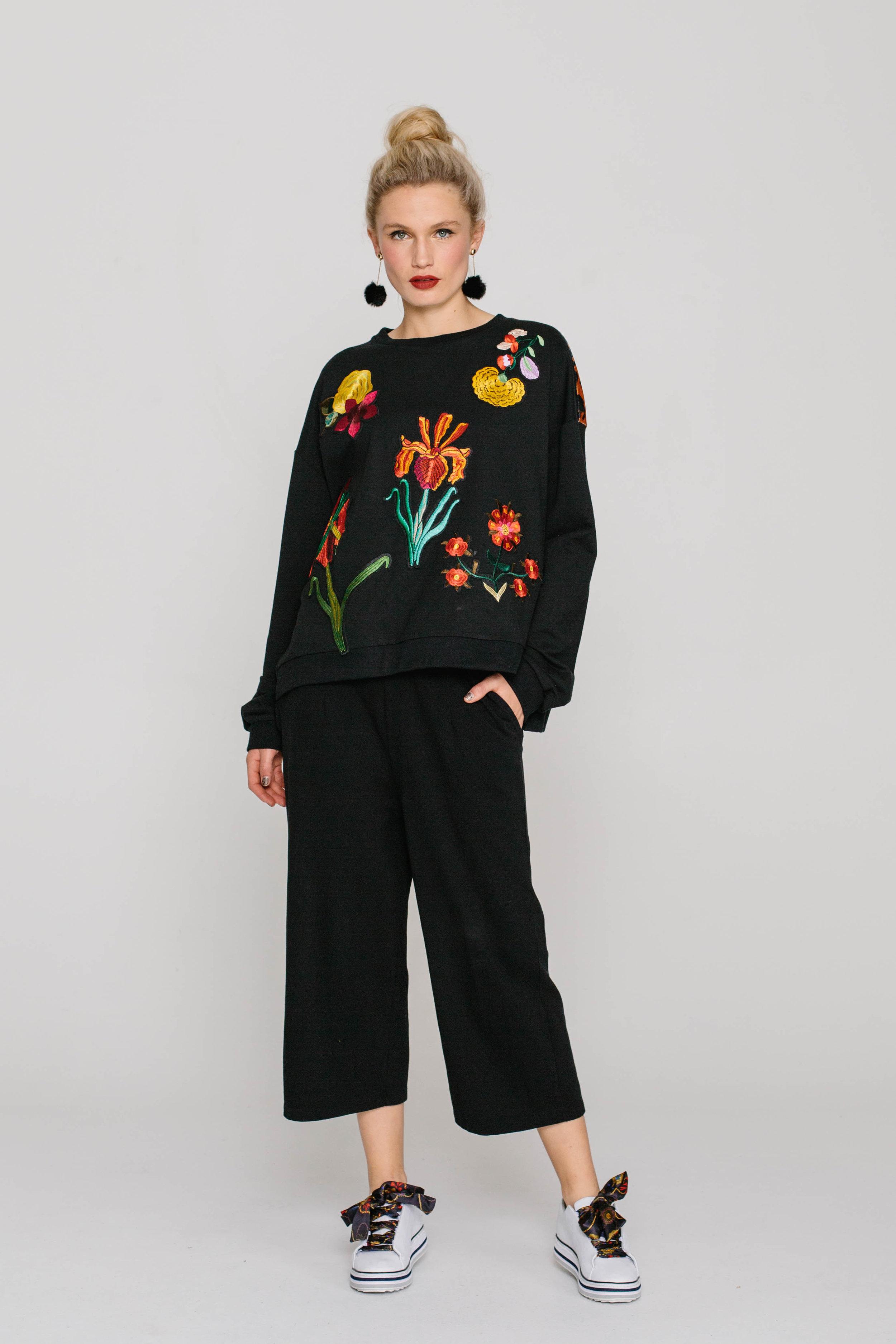 6145W Tiger Sweater Multi