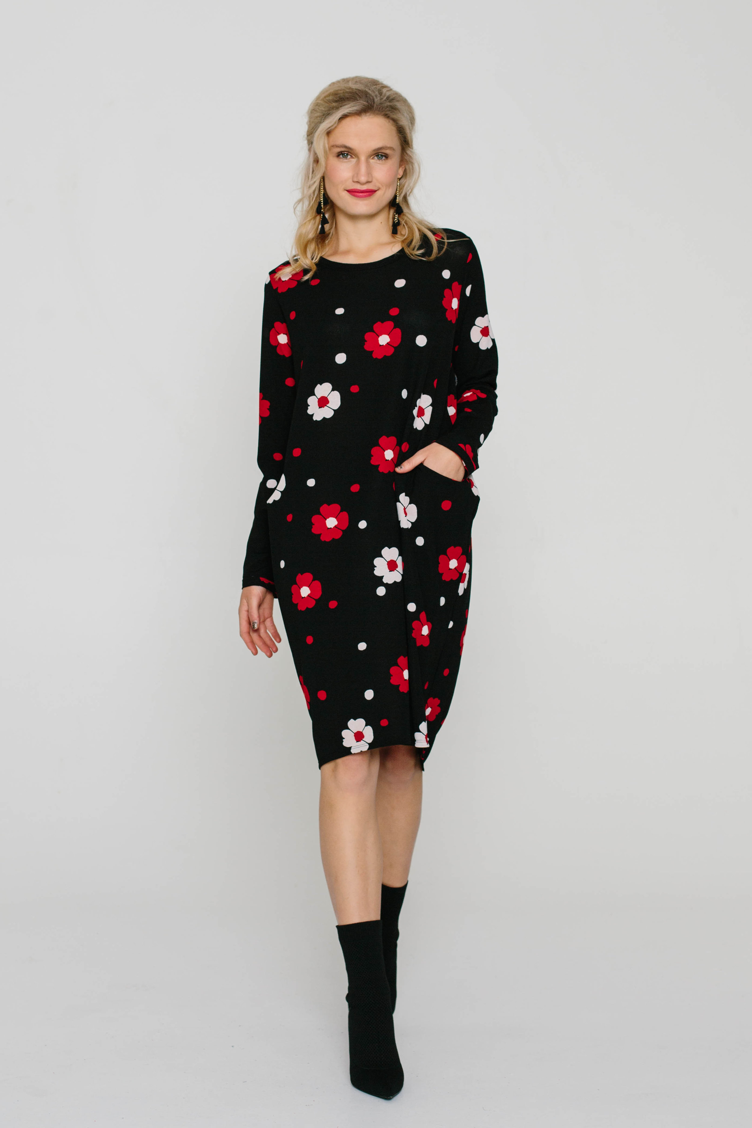 6163W Halo Dress Mary Quant Red