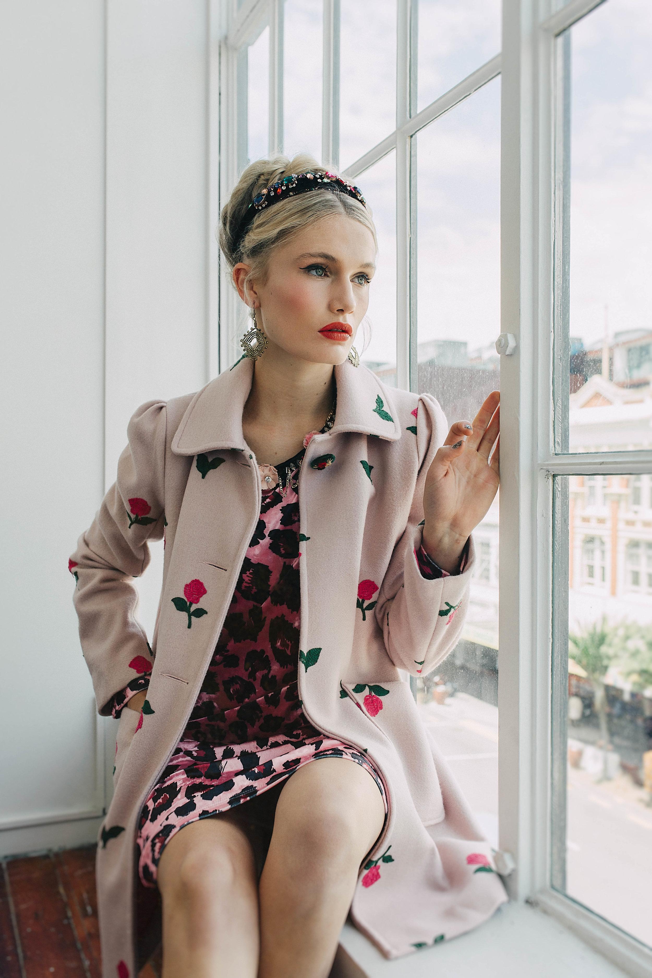5968W Doolittle Coat Second Hand Rose Pink