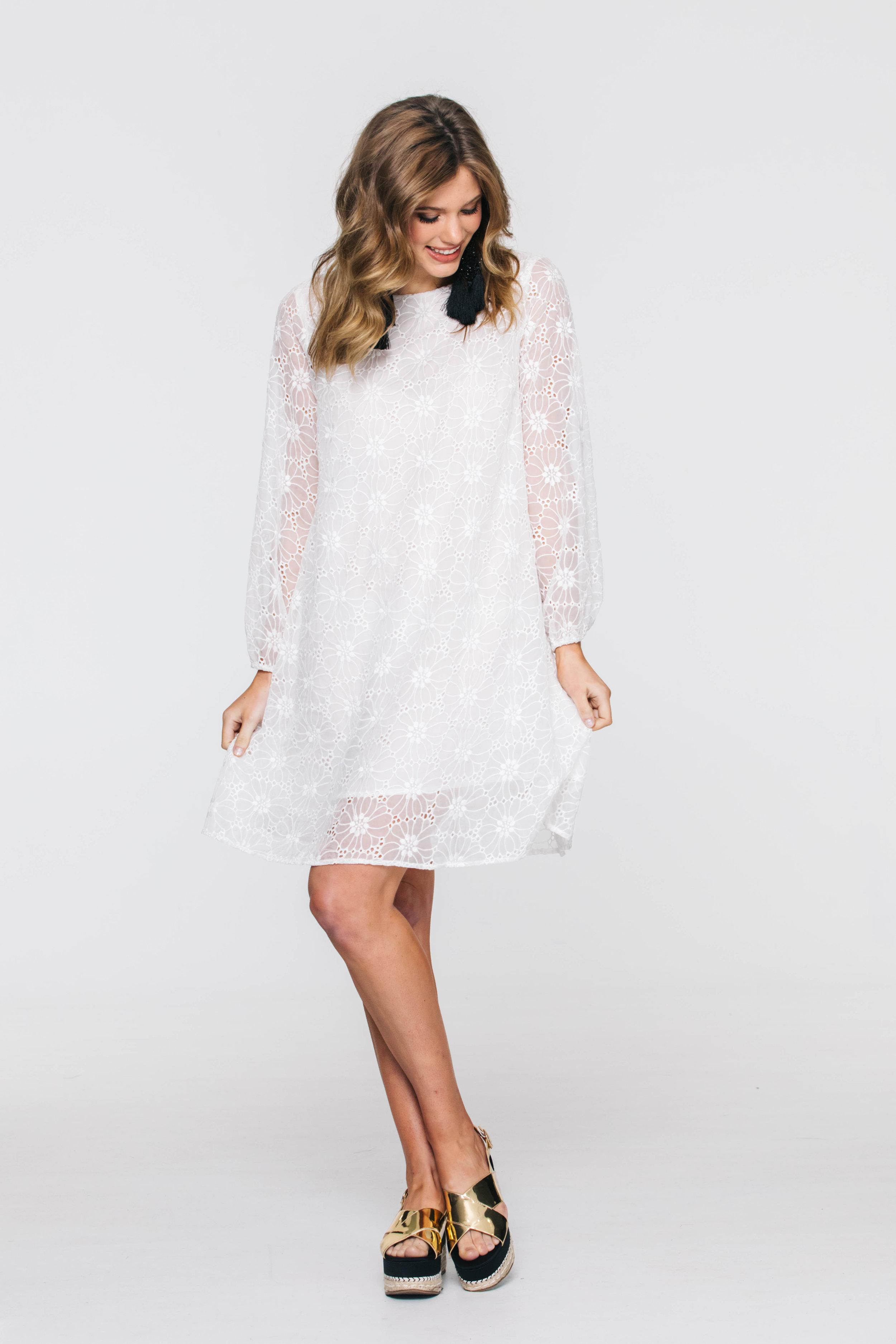 5906V Shilo Dress, Molly Ivory