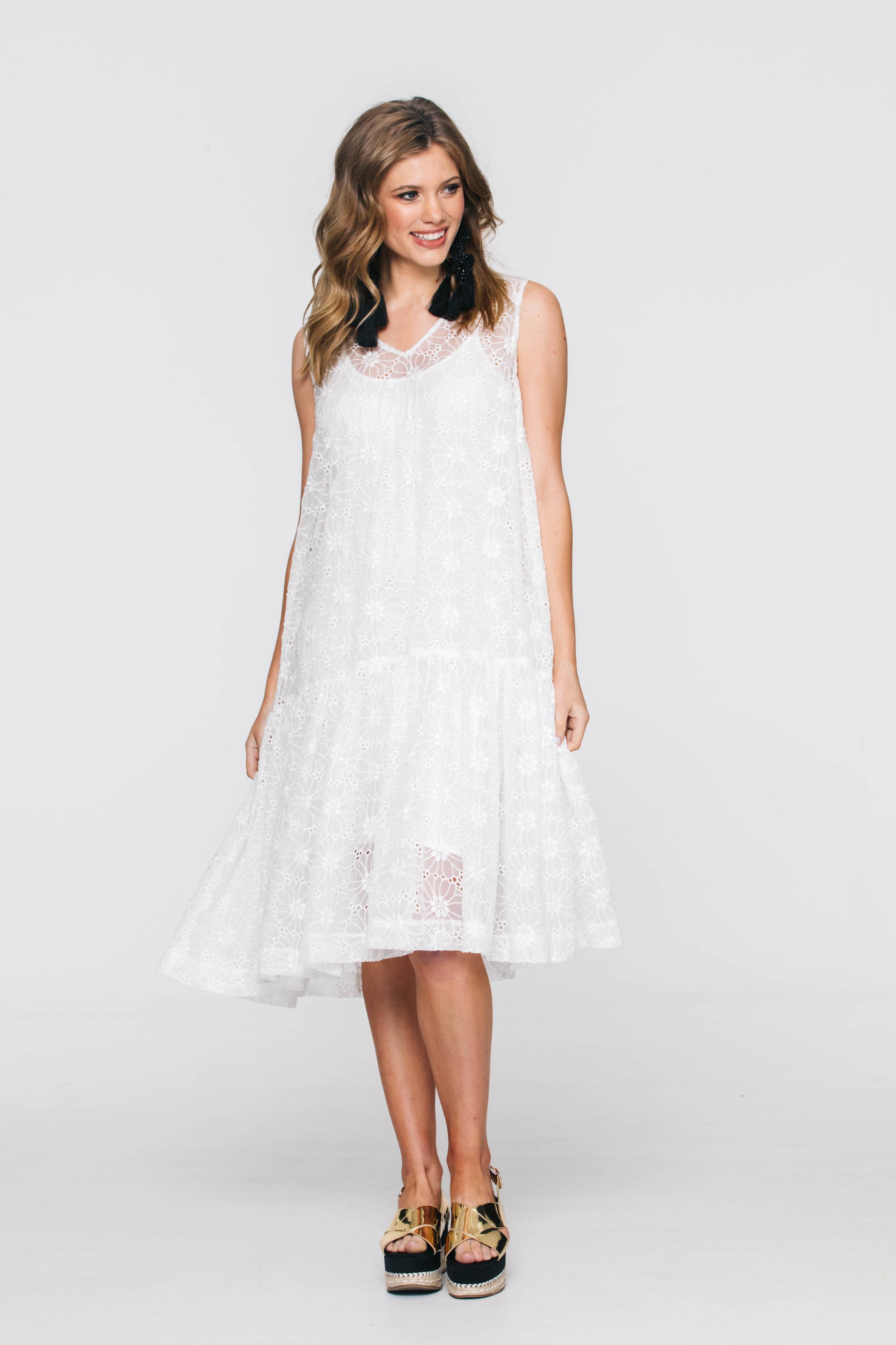 6210V Meme Dress, Molly Ivory