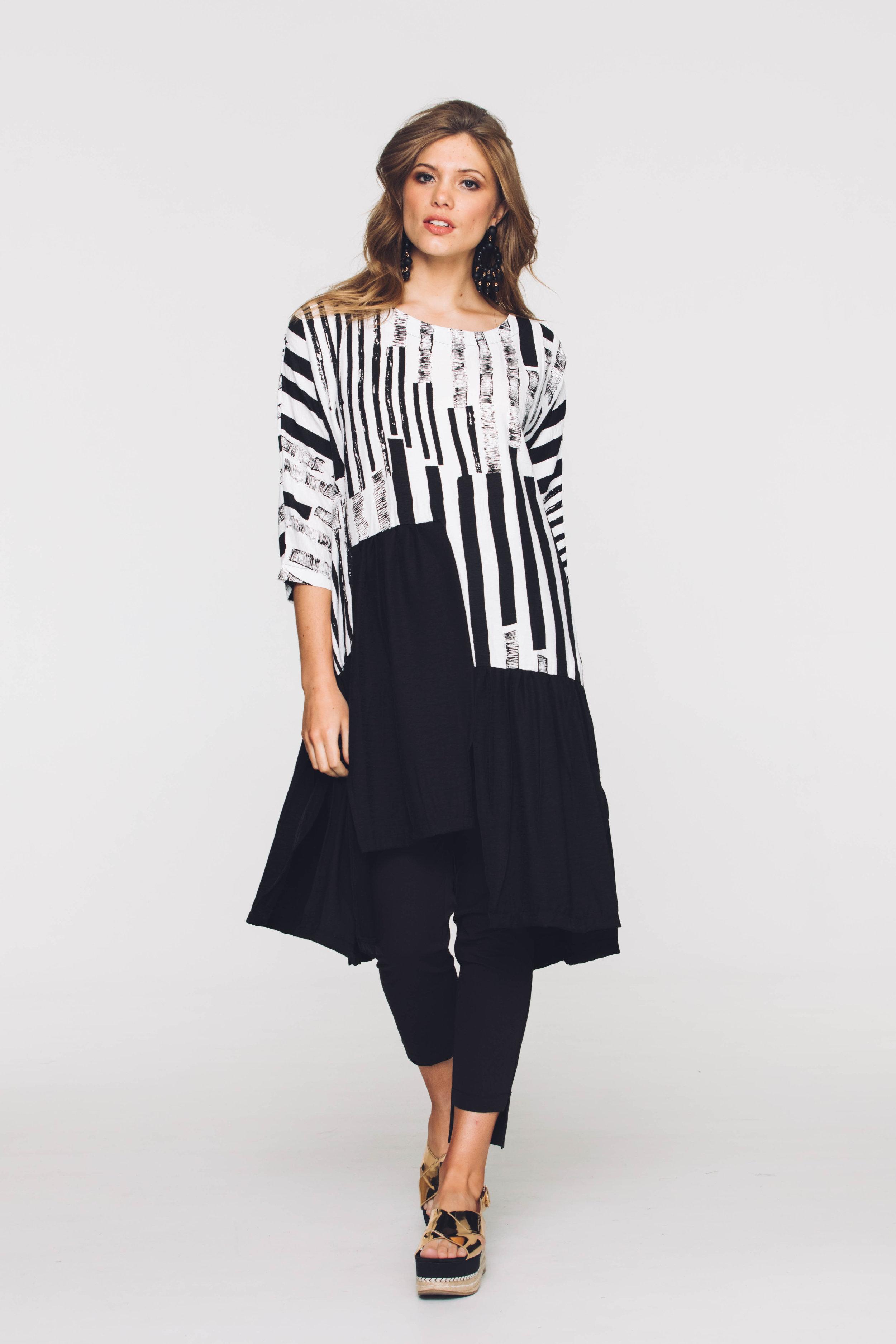 6298V Florida Dress, Black