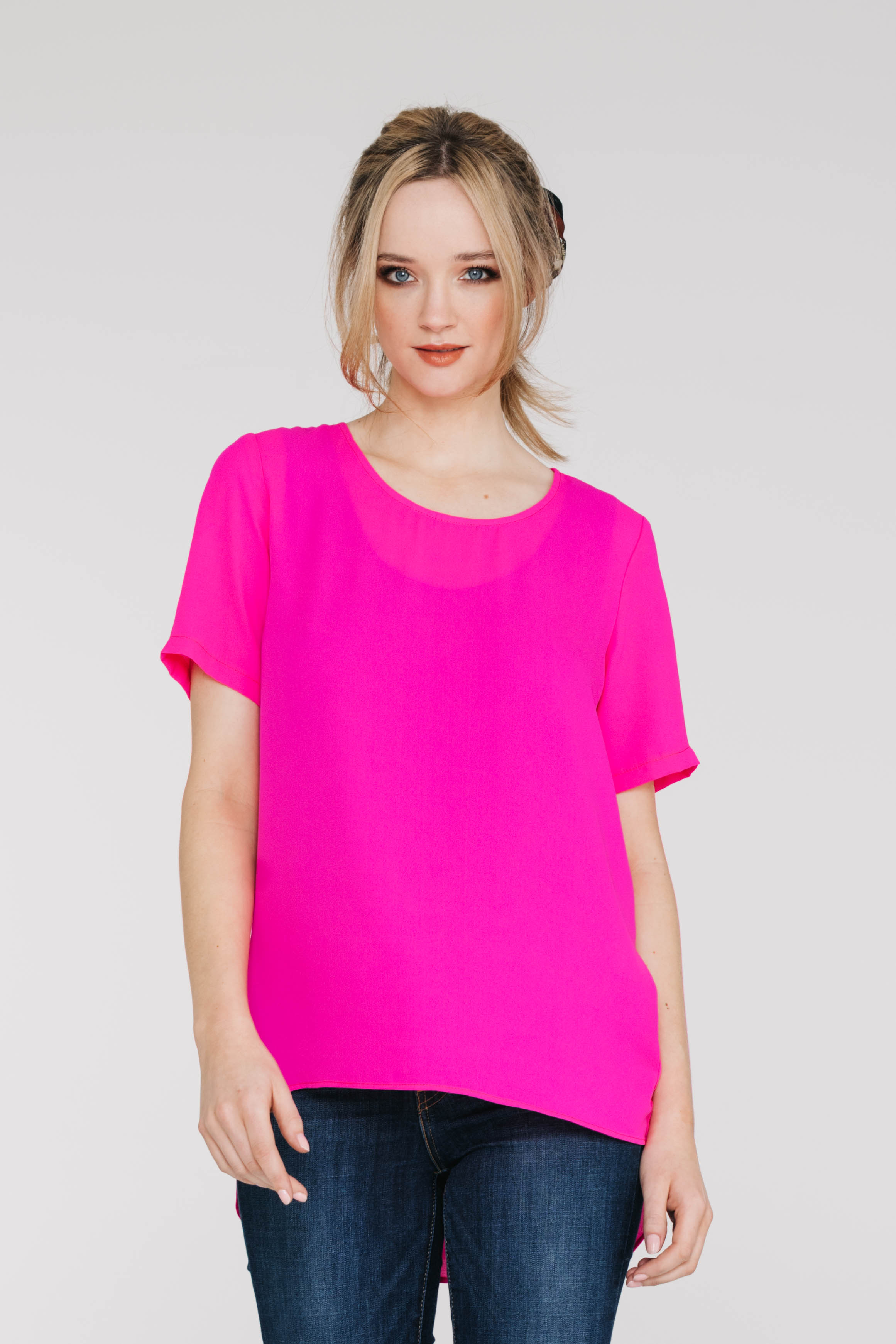 New Tux Tee 5173PA Hot Pink