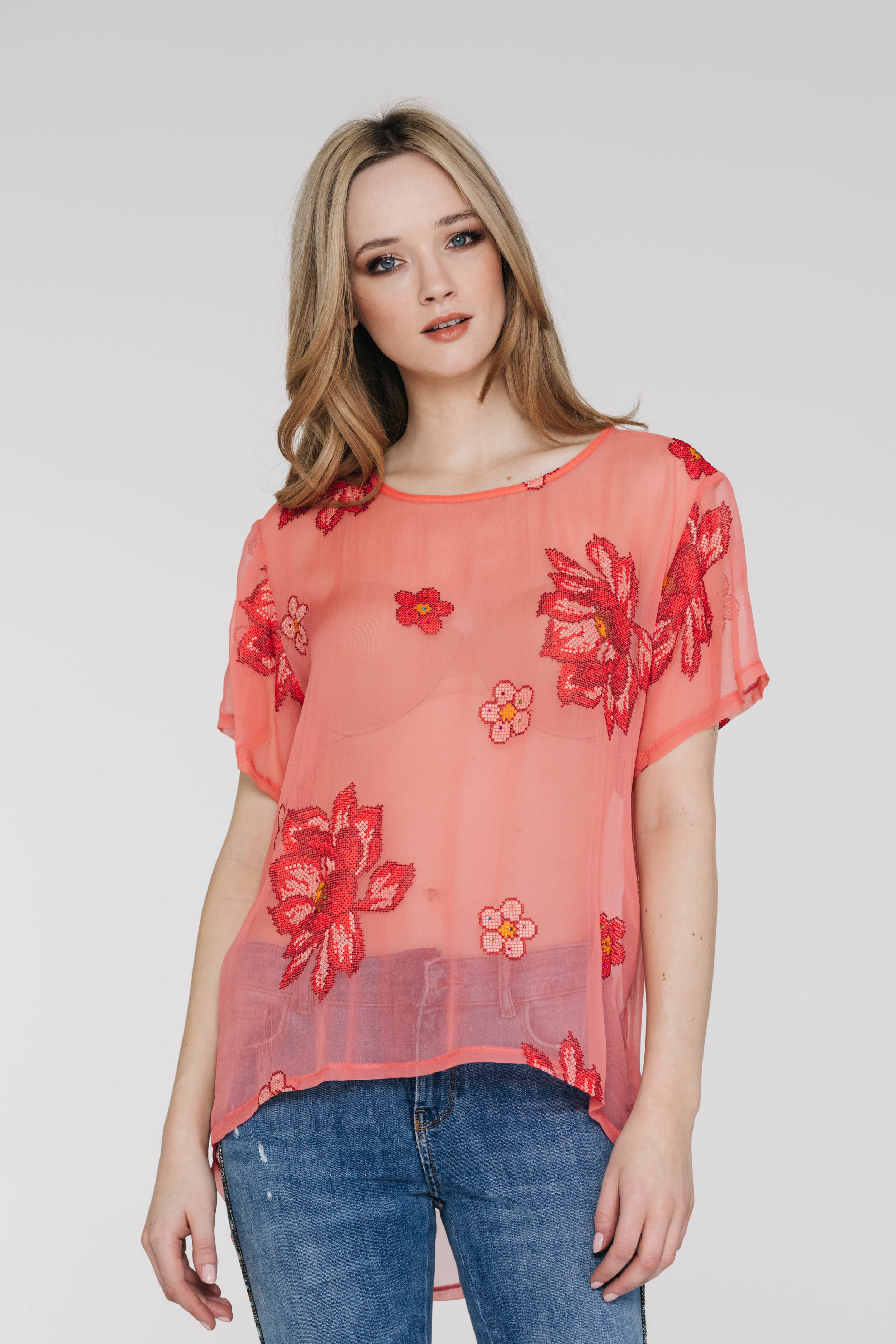 Perfect Tee 4405PD Starry Rose Coral