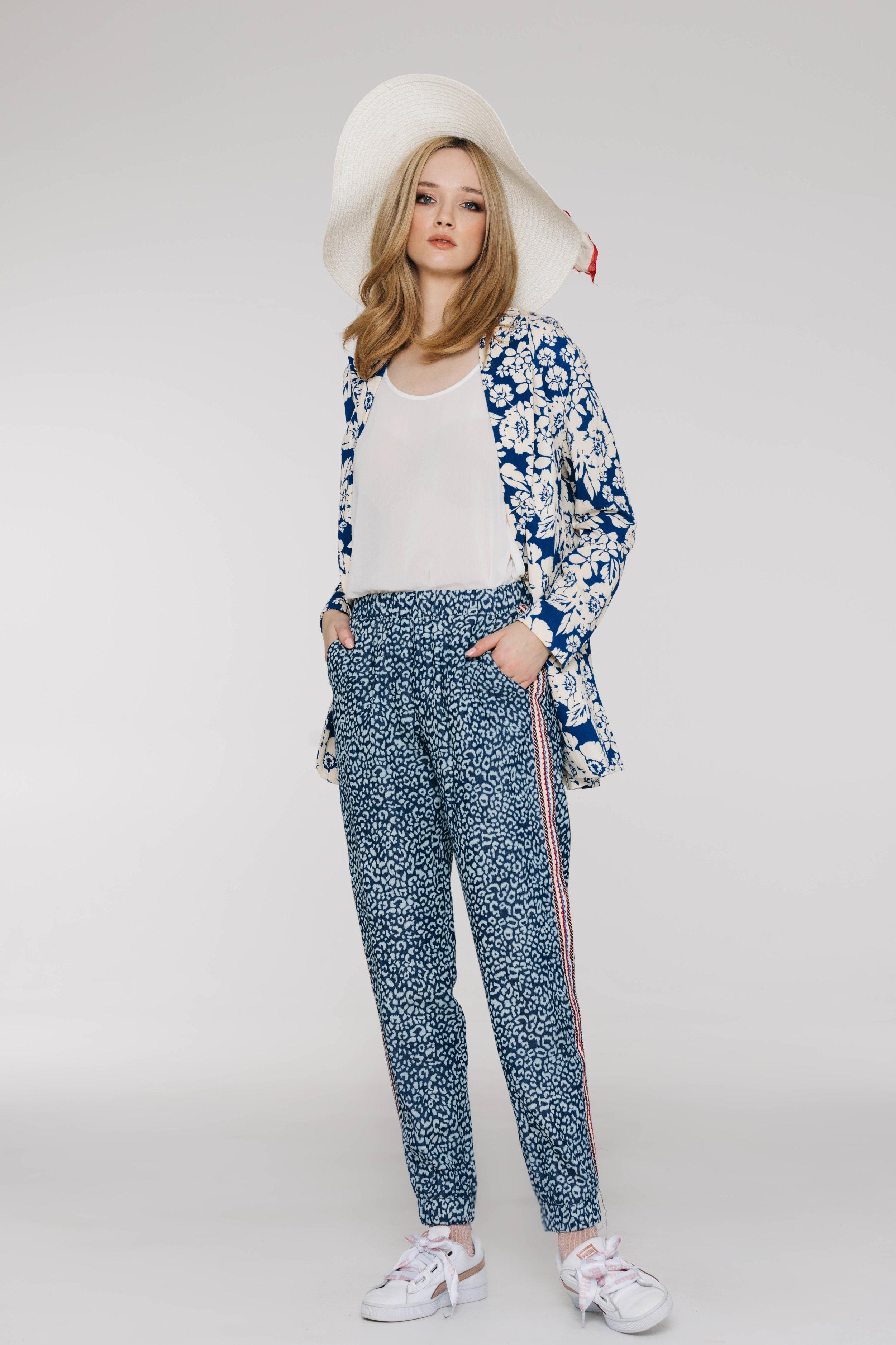 Benatar Jacket 6487N Jillian Blue, Summer Pant 4751NA Skin Denim