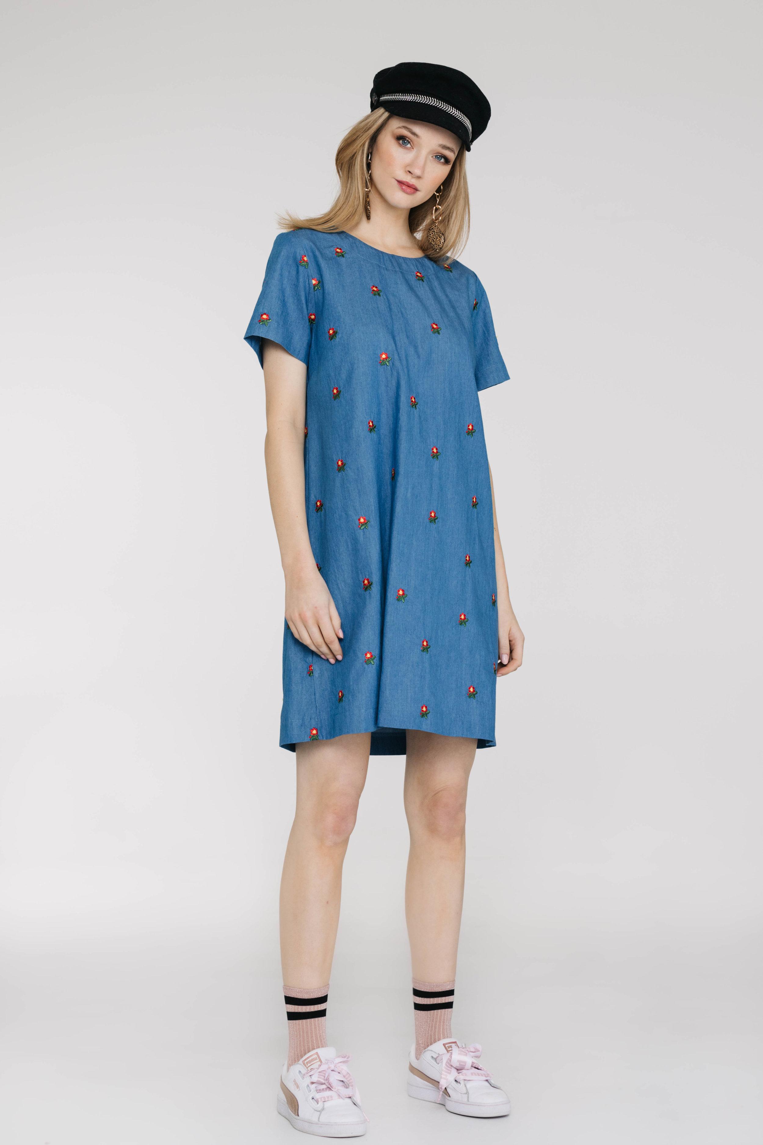 Factory Dress 6019N Light Denim