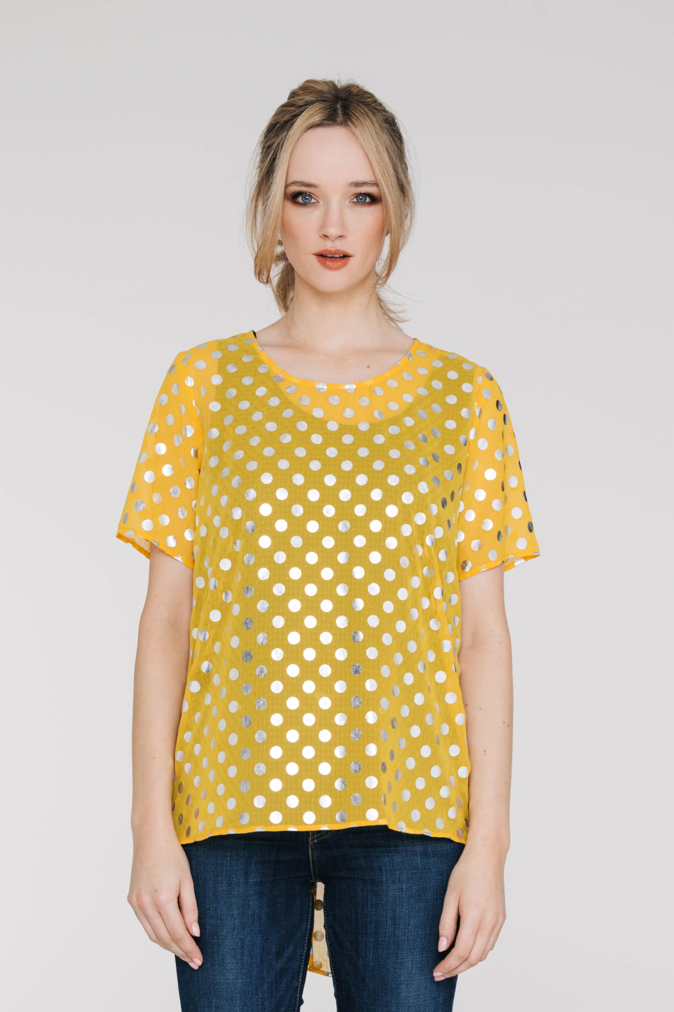 New Tux Tee 5173N Silver Spot Yellow