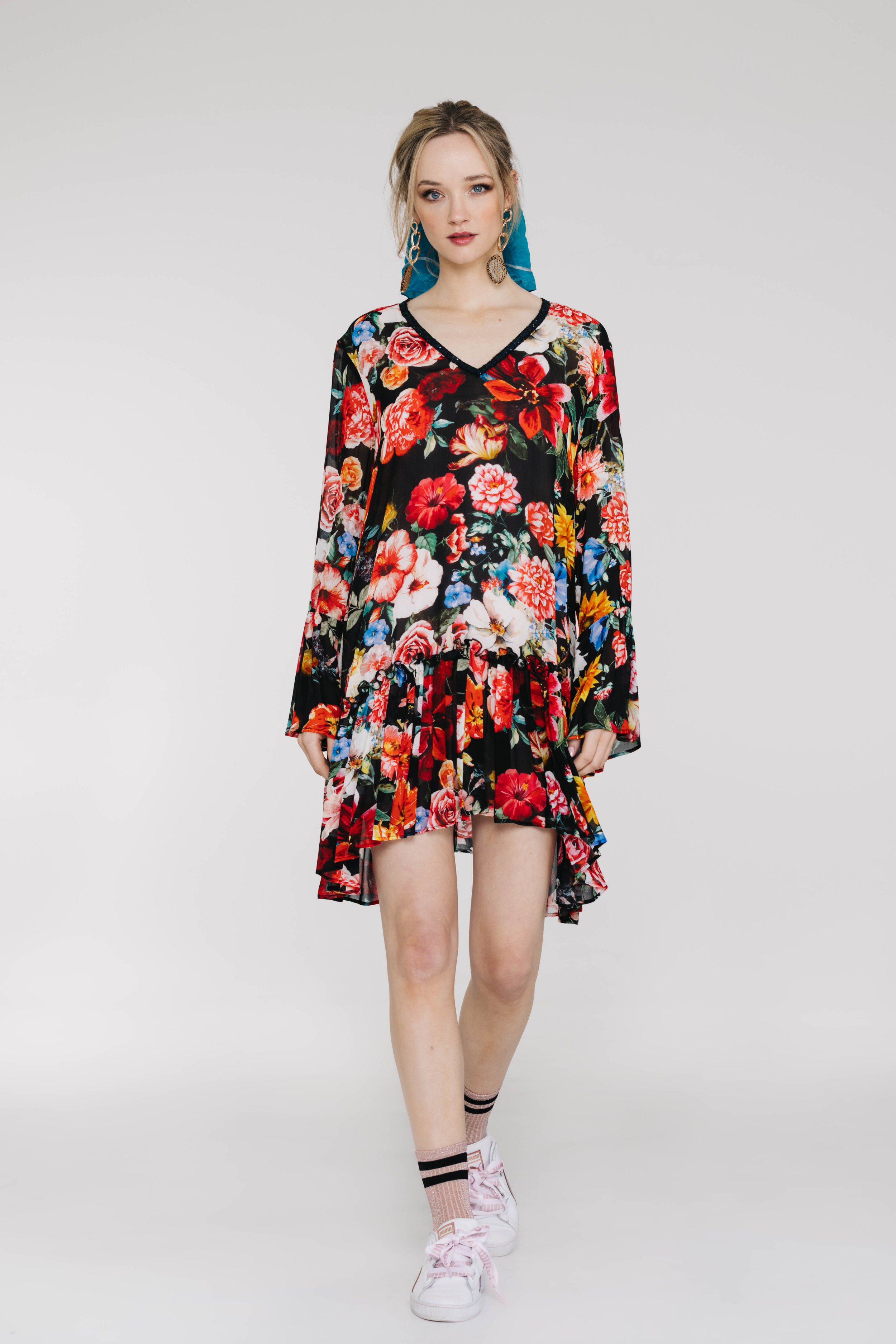 Ruff All Dress 6143N Juliet