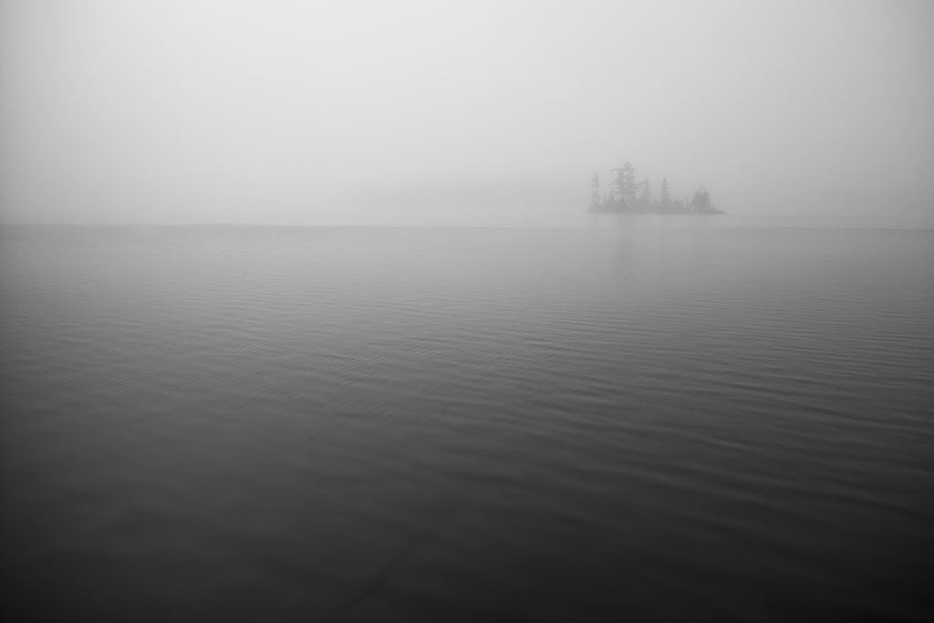 Island in the Mist,  by Erik Myers. All Rights Reserved.