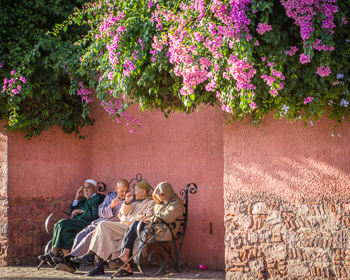 Marrakech, Morocco, by Bill Lane. All rights reserved.