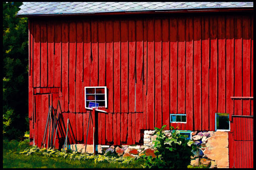 Barn South of Oshkosh, by Skot Weidemann. All rights reserved.