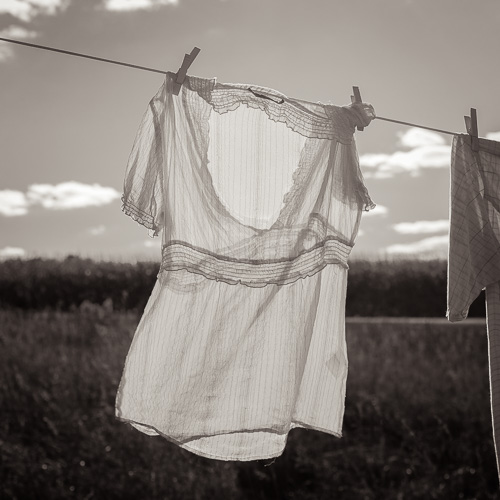 Clothesline, by Michael Knapstein. All rights reserved.