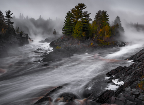 St Louis River, Jay Cooke State Park, MN, by Bob Jaeger. All rights reserved.