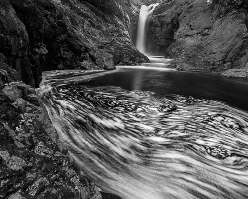 Cascade River Swirl, by Andreas Friedl. All rights reserved.