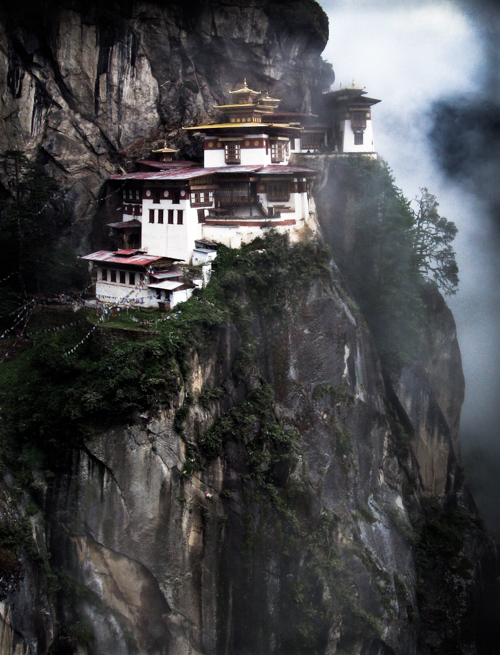 Tiger's-Nest, Paro, Bhutan  by Paul Thoresen. All Rights reserved.      paulthoresenphotoart.com