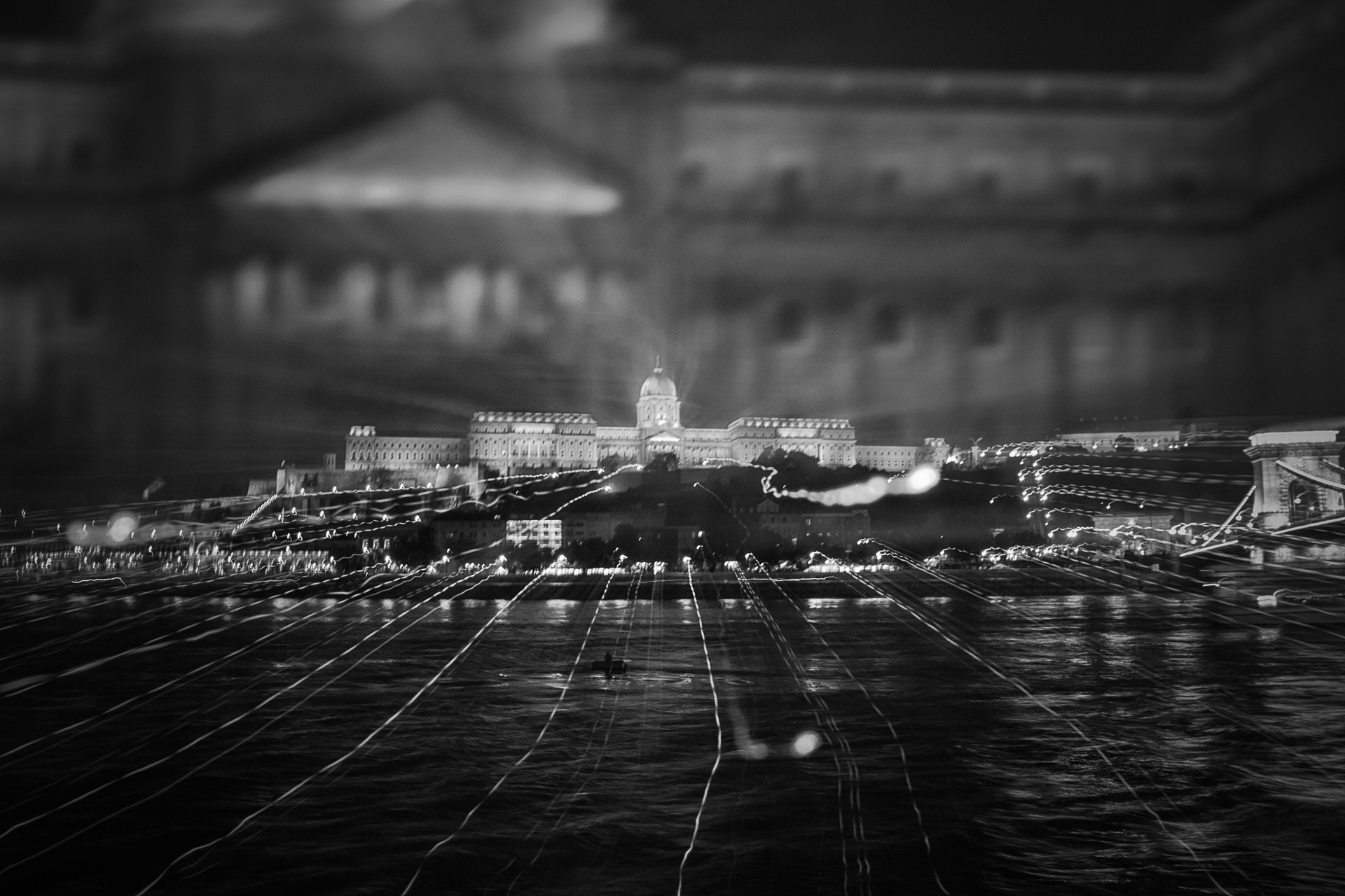 Buda Castle on Danube, by Larry Hands. All rights reserved.