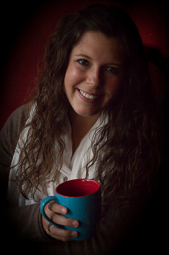 Coffee with Annie, by Michael Rausch. All rights reserved.