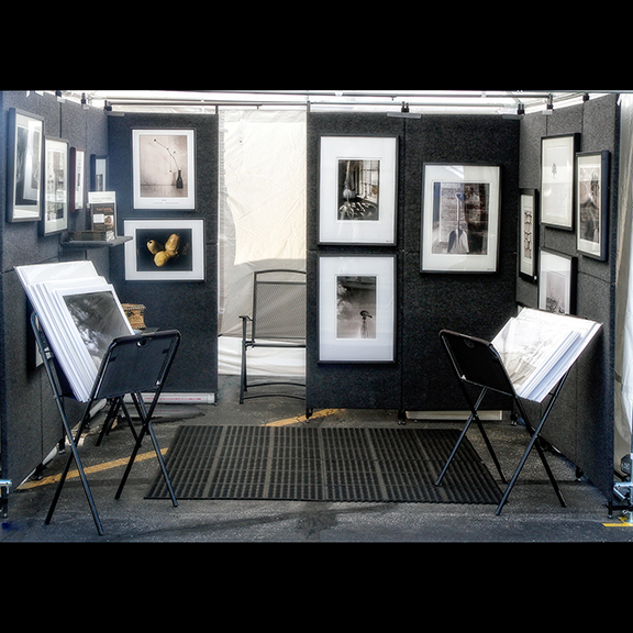Art Fair Booth. All rights reserved by Don Mendenhall