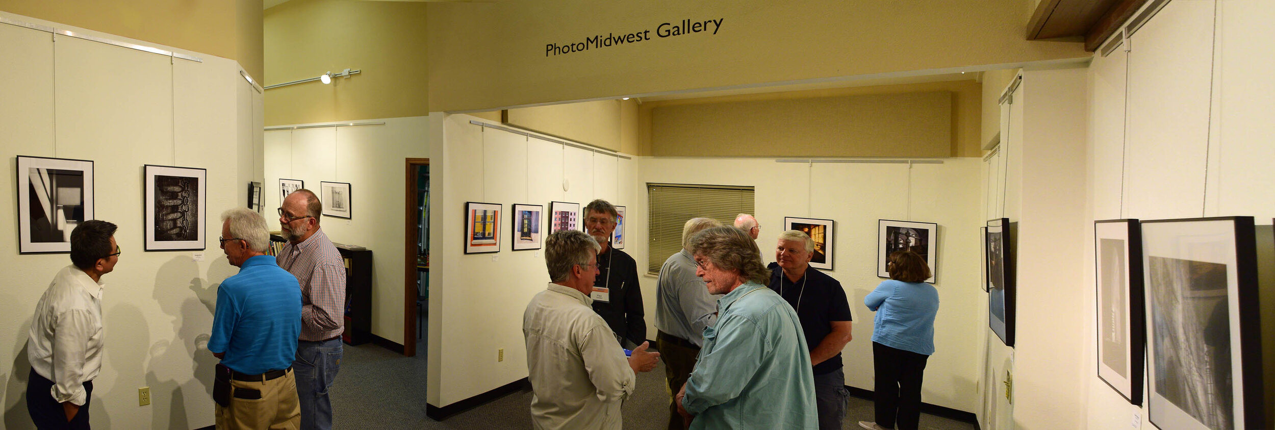 Featured Photographer opening at PhotoMidwest. Photo by Kurt Westbrook, all rights reserved.