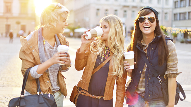 Studies show that Millennials like to drink coffee. Serious.