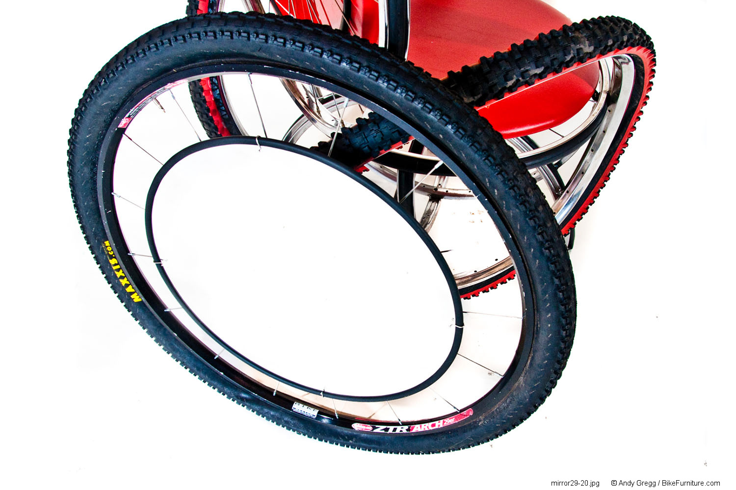 Bike Wheel Mirror - Mountain 29""