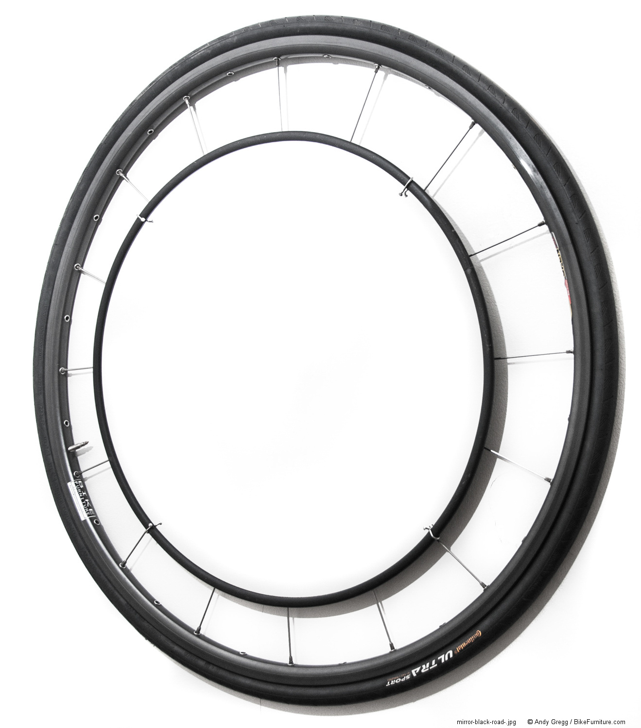 Bike Wheel Mirror - Road
