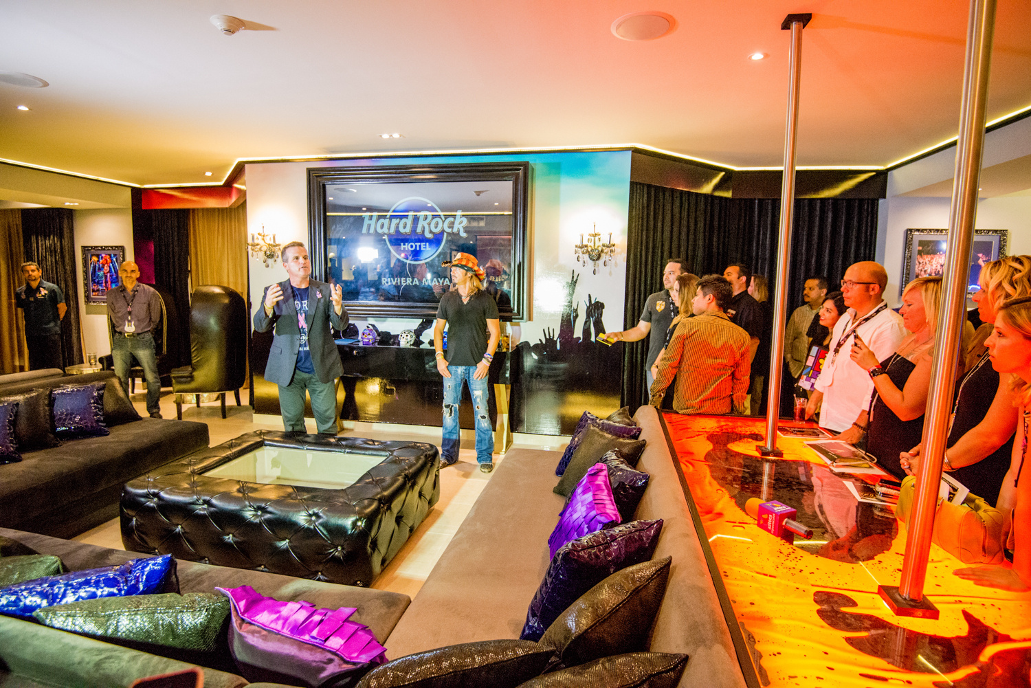 Bret Michaels Suite Hard Rock Hotel Riviera Maya