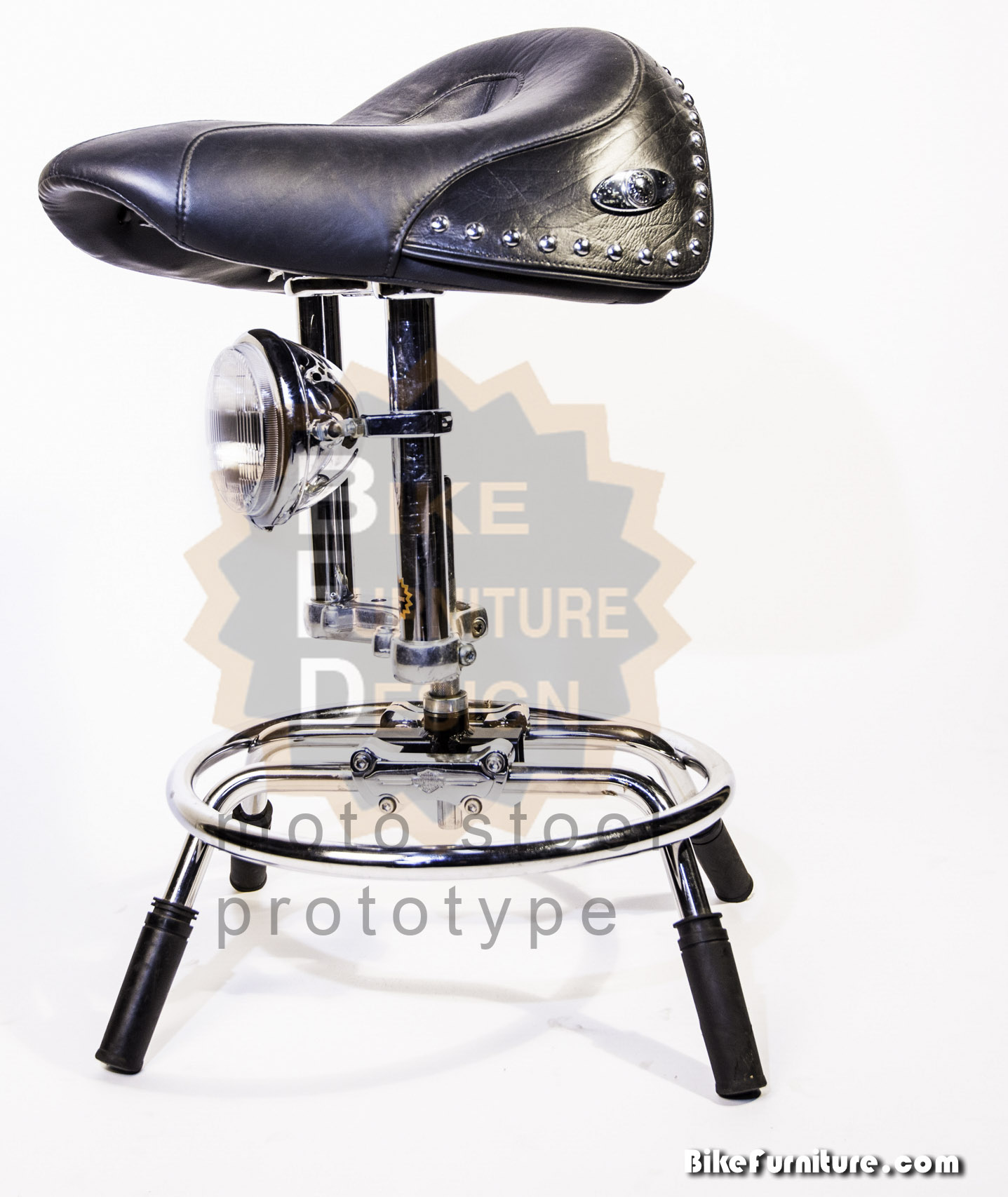 Moto stool saddle 2b - prototype