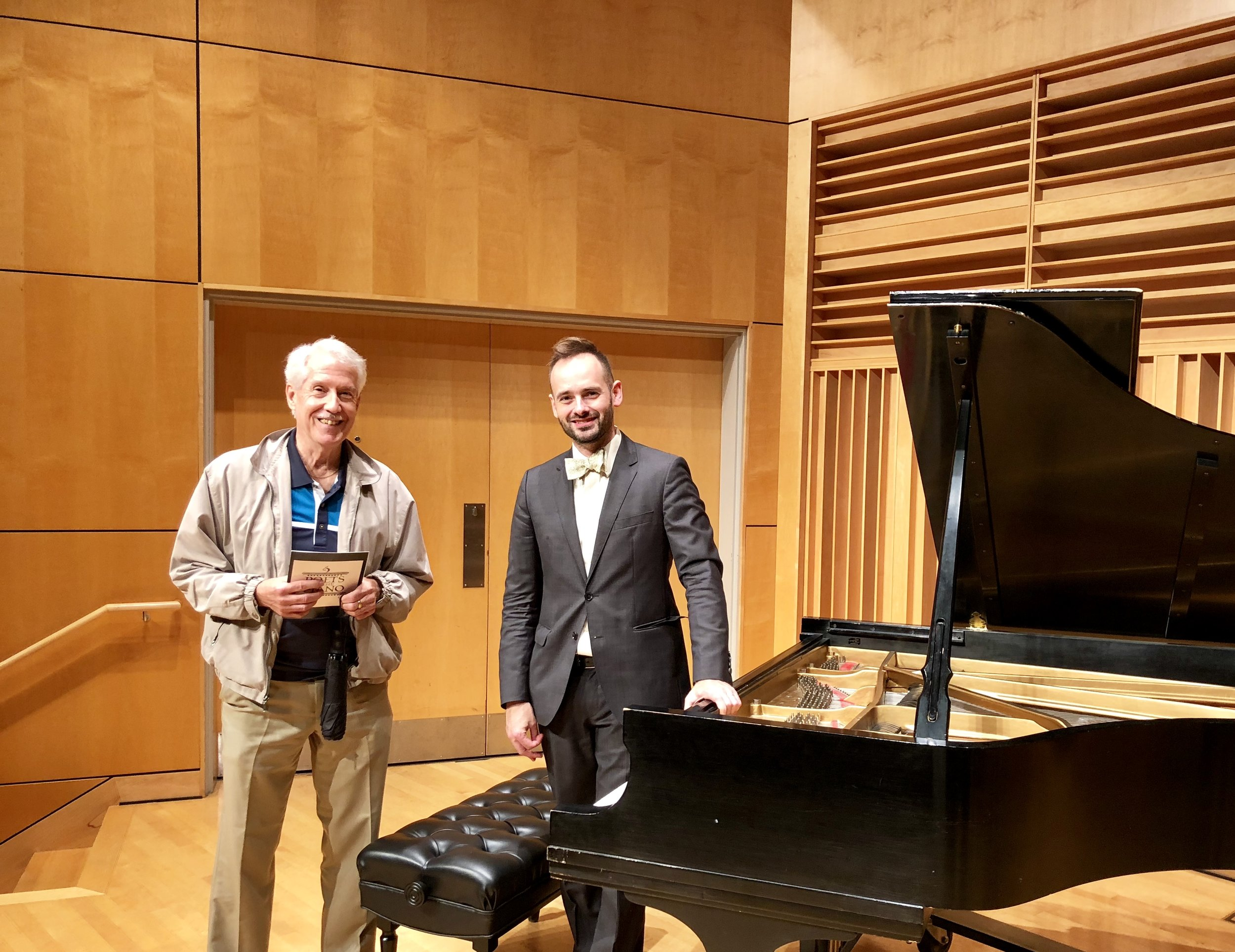 bill hughes taught piano at ISU for 40 years