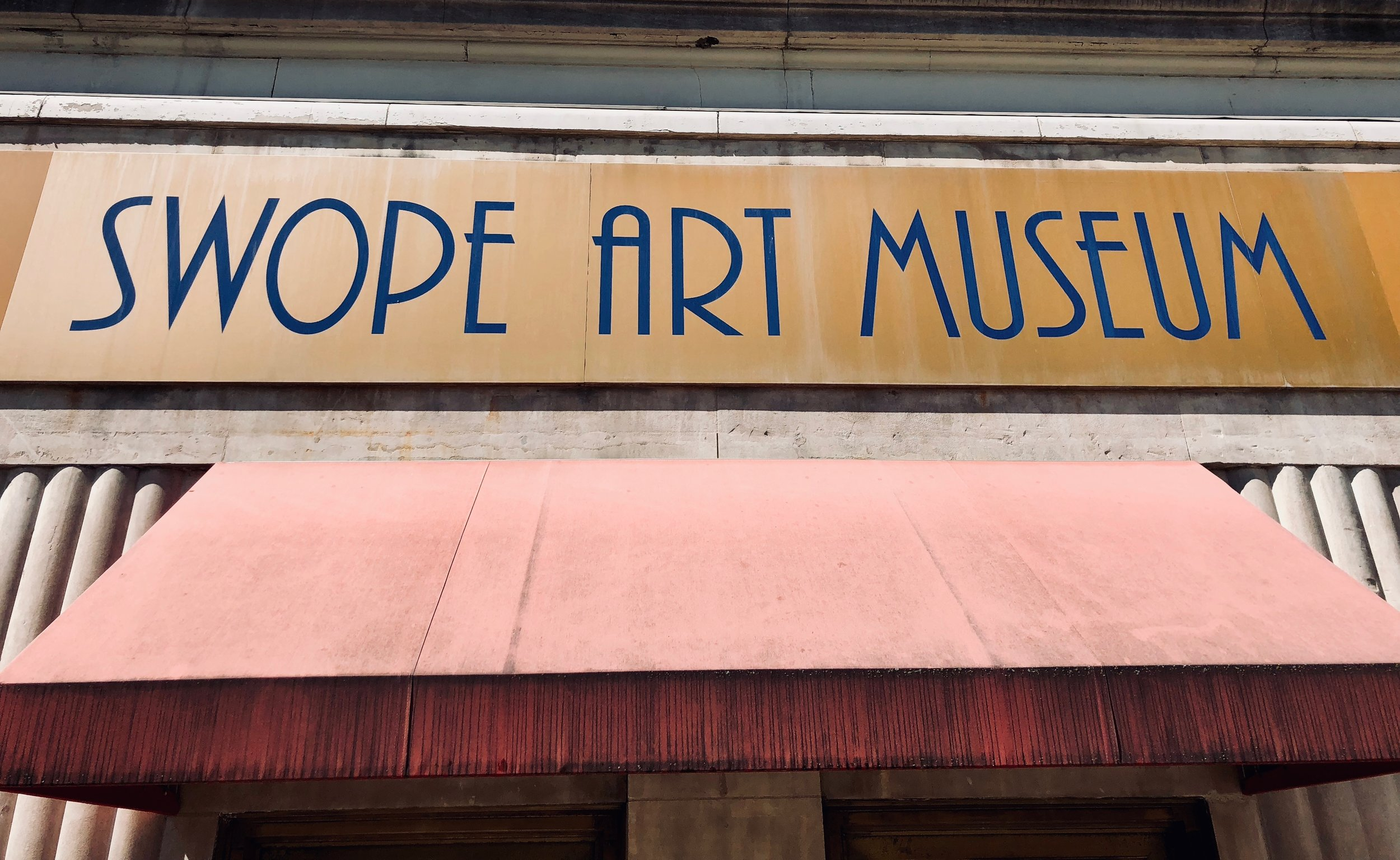 The Swope is a small museum dedicated to American art in downtown Terre Haute