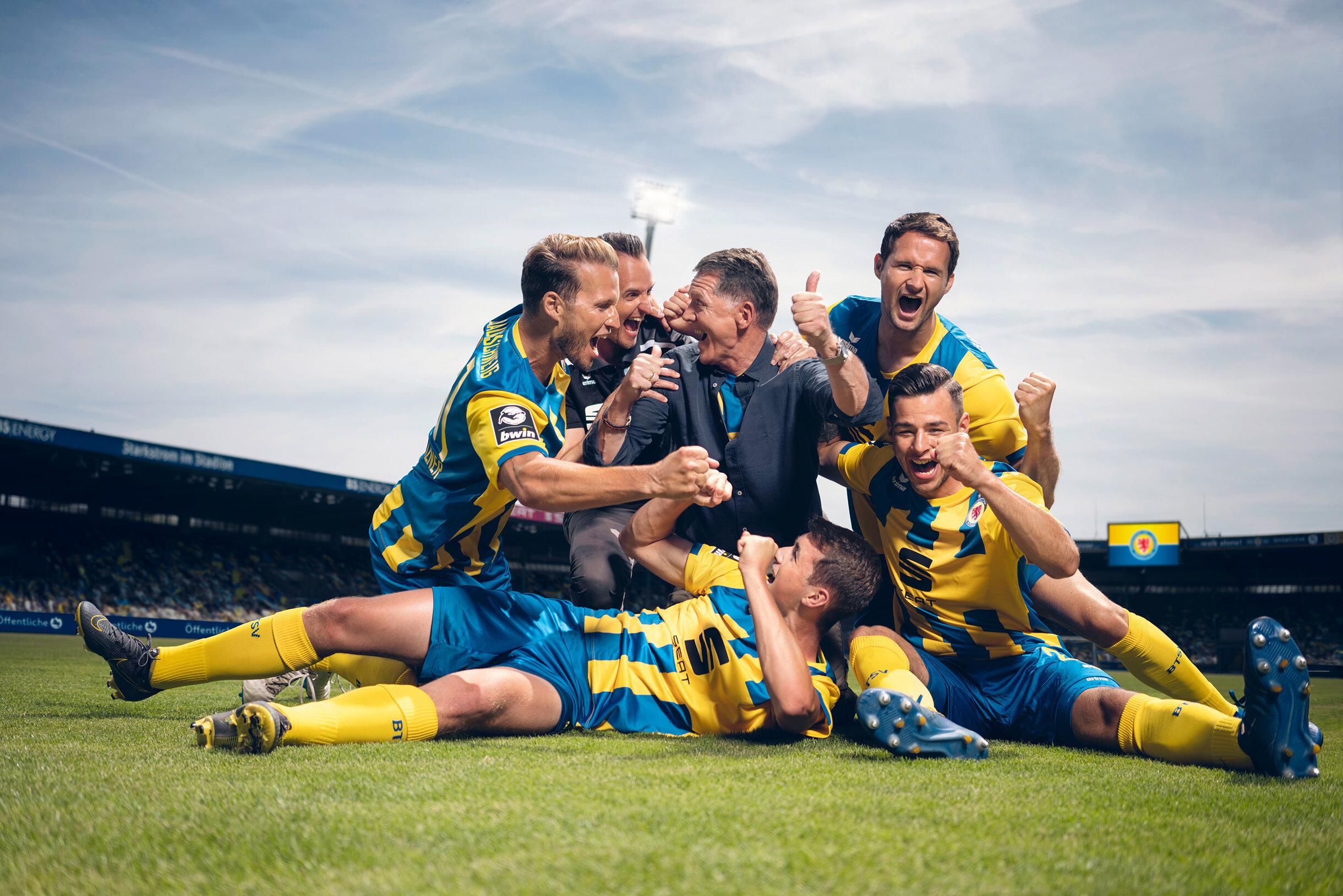 Öffentliche Versicherung  Eintracht Braunschweig Sponsoring Keyvisual