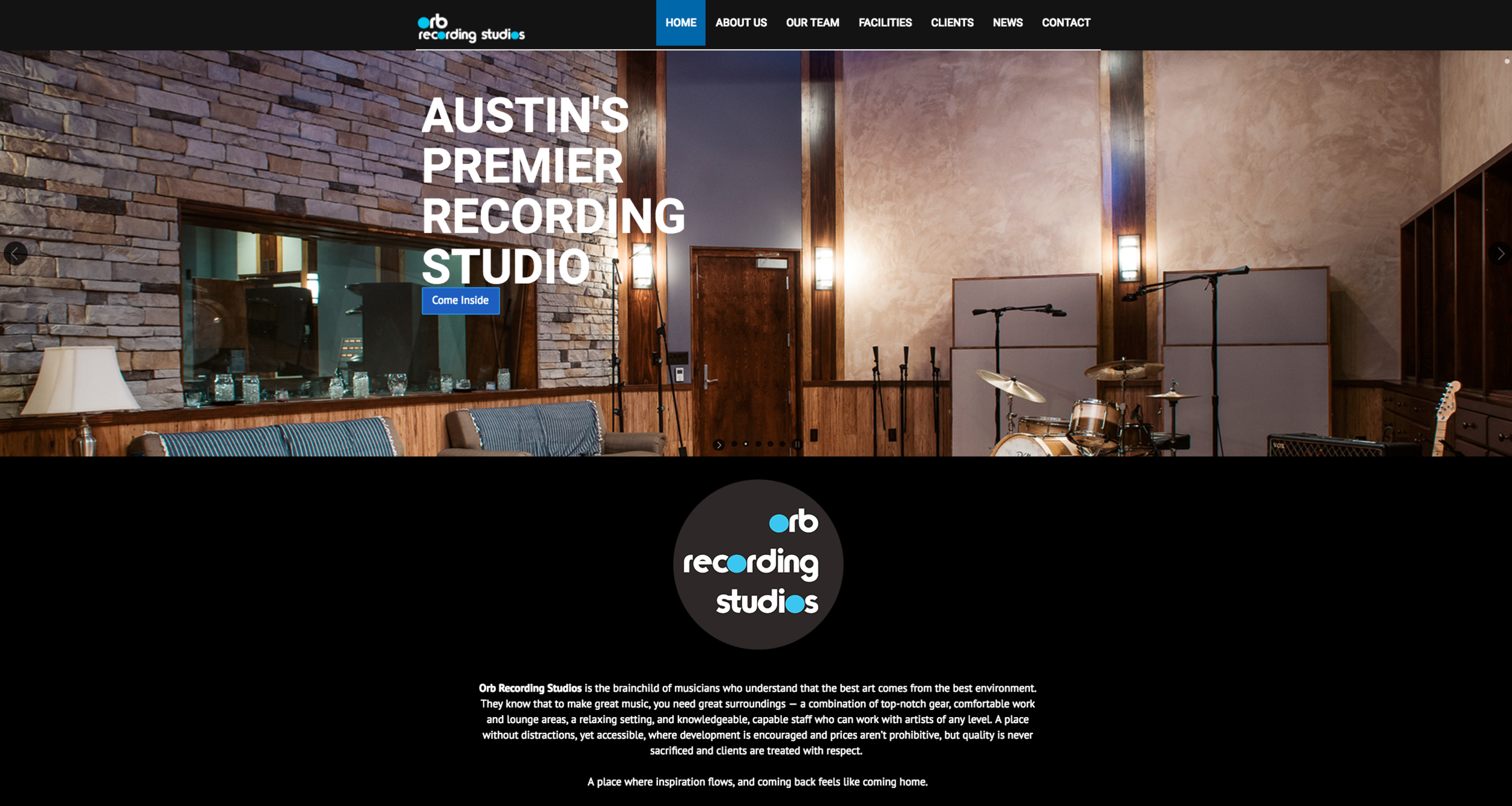Orb Recording Studios in Austin Texas Photography by Jack Sorokin