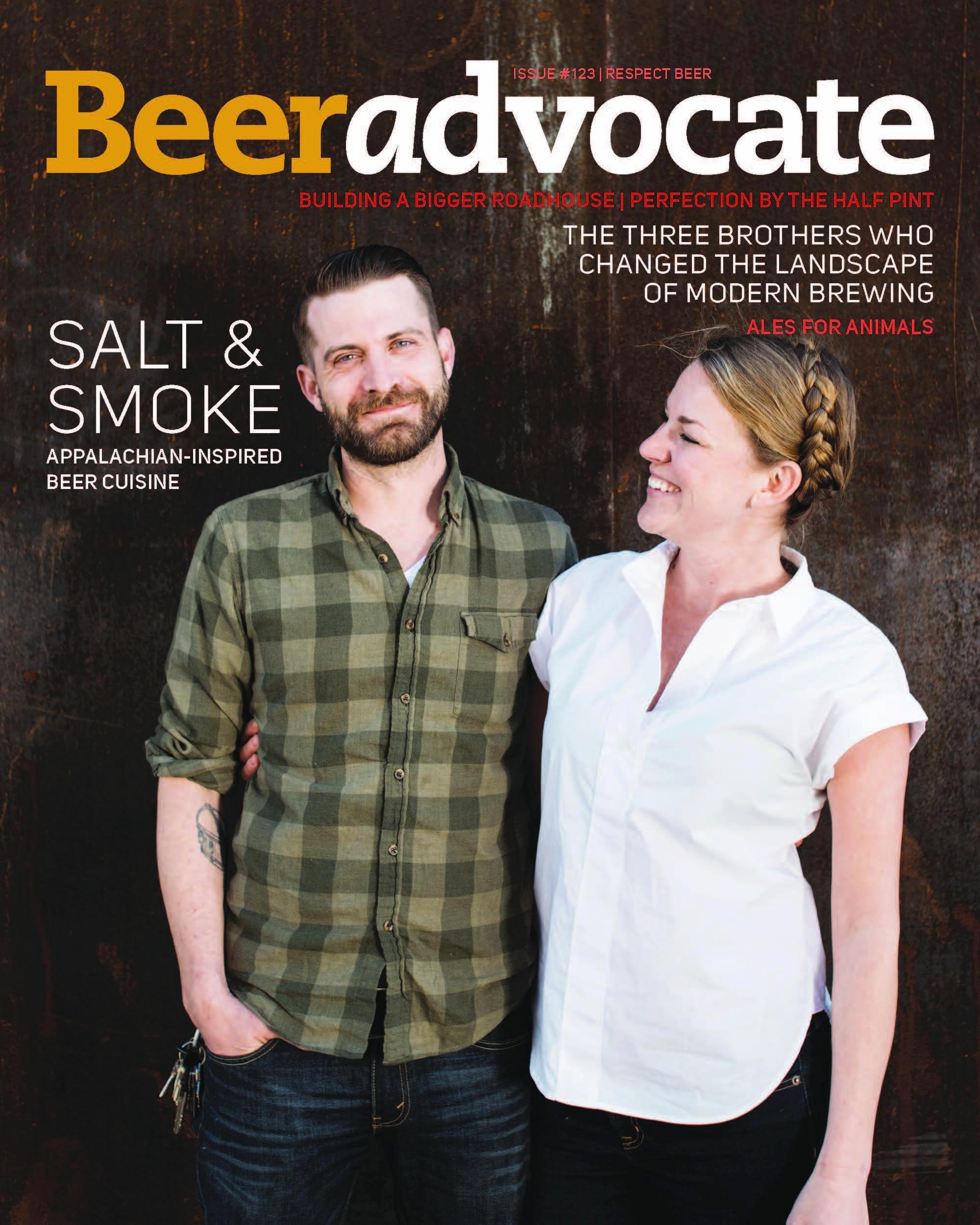 beer advocate jack sorokin cover photo editorial salt and smoke asheville burial beer