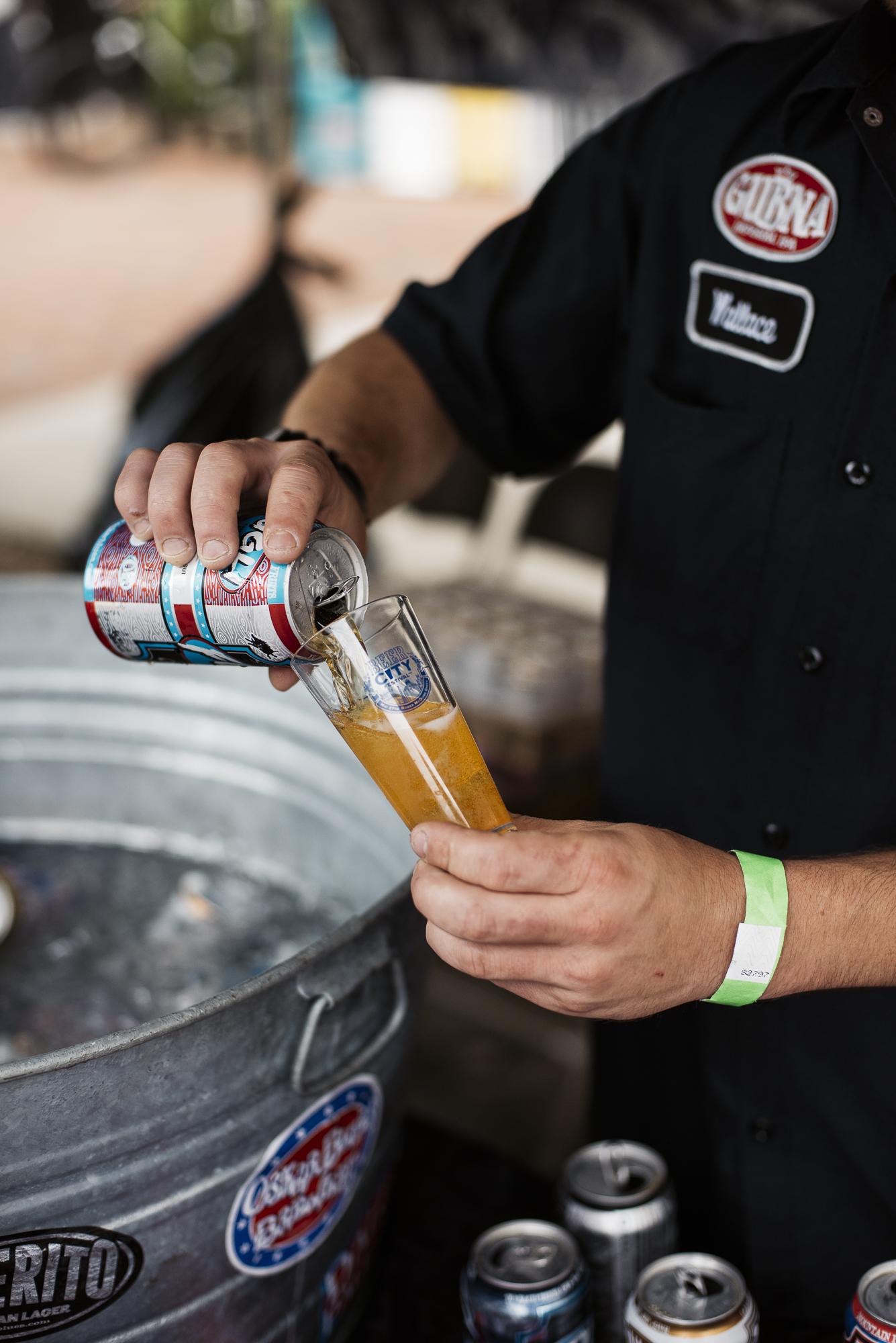 Oskar Blues Brewing at Beer City Fest 2017 in Asheville North Carolina by Jack Sorokin Photography