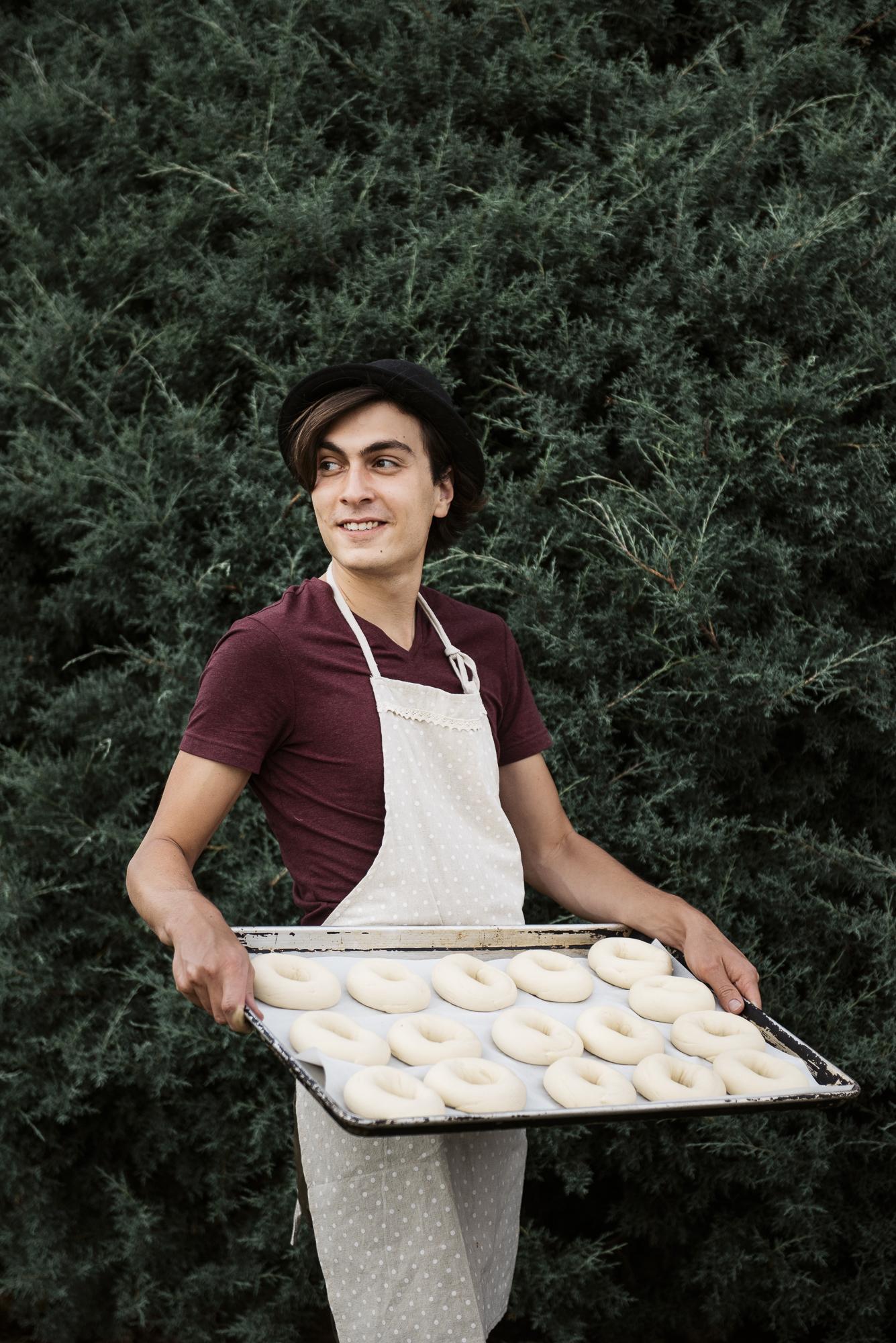 Home Free Bagels  Jack Sorokin Flame Food Photographer Asheville North Carolina NC Bakery Commercial Photography Alexander Blume