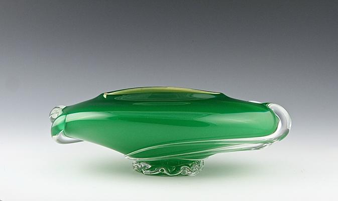ZACK DROP BOWL Emerald