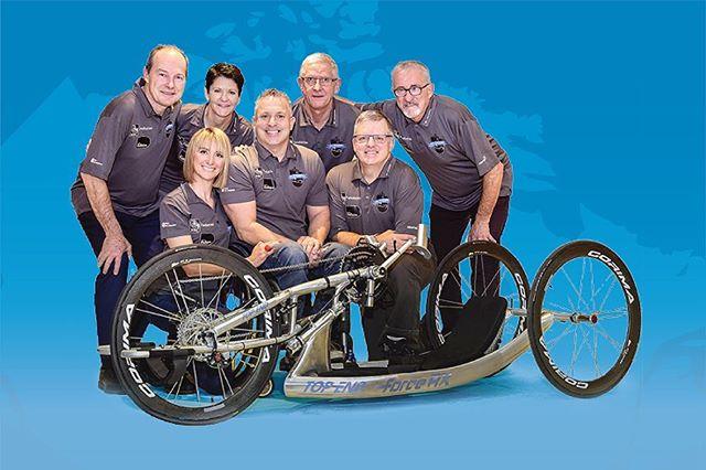 [PARTENARIAT] Nous collaborons, depuis quelques mois déjà, avec l'équipe de La randonnée Jimmy Pelletier, sur un projet bien spécial: la Traversée Jimmy Pelletier.  Jimmy Pelletier est un athlète paralympique et paraplégique qui s'est donné comme mission de traverser le Canada en vélo à main pour amasser des fonds pour les personnes ayant un trouble du spectre de l'autisme et un handicap physique ou intellectuel. Le tout au profit du Patro Roc-Amadour et d'Adaptavie.  Accompagné de 6 cyclistes, le grand départ de Jimmy est prévu le 7 mai prochain à Vancouver et se terminera à Halifax le 10 juillet 2019. Toute l'équipe de la Traversée travaille actuellement très fort pour développer les outils nécessaires à cette aventure - en voici d'ailleurs quelques-un que nous avons conçus.  Nous sommes très fiers de faire partie d'une si belle cause et d'encourager Jimmy et son équipe dans cet exploit. Vous pouvez vous aussi y contribuer en faisant un don juste ici -  JimmyPelletierCanada2019.com -- #TJP2019 #JimmyPelletierCanada2019 #ToutEstPossible #ImageDeMarque #DesignGraphique