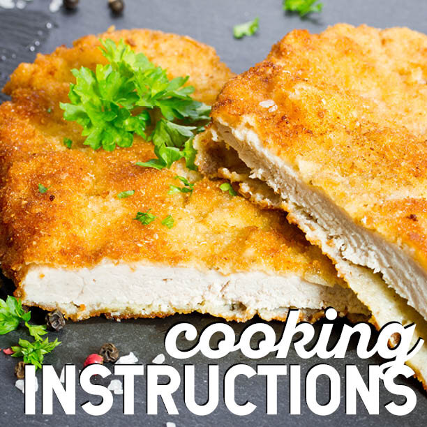Cooking or reheating The Store entrees? Click below for instructions.