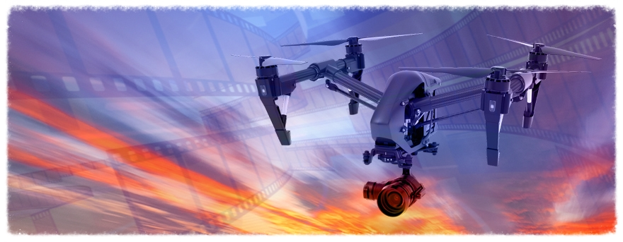 Drone pilots and videographers available for your aerial needs.